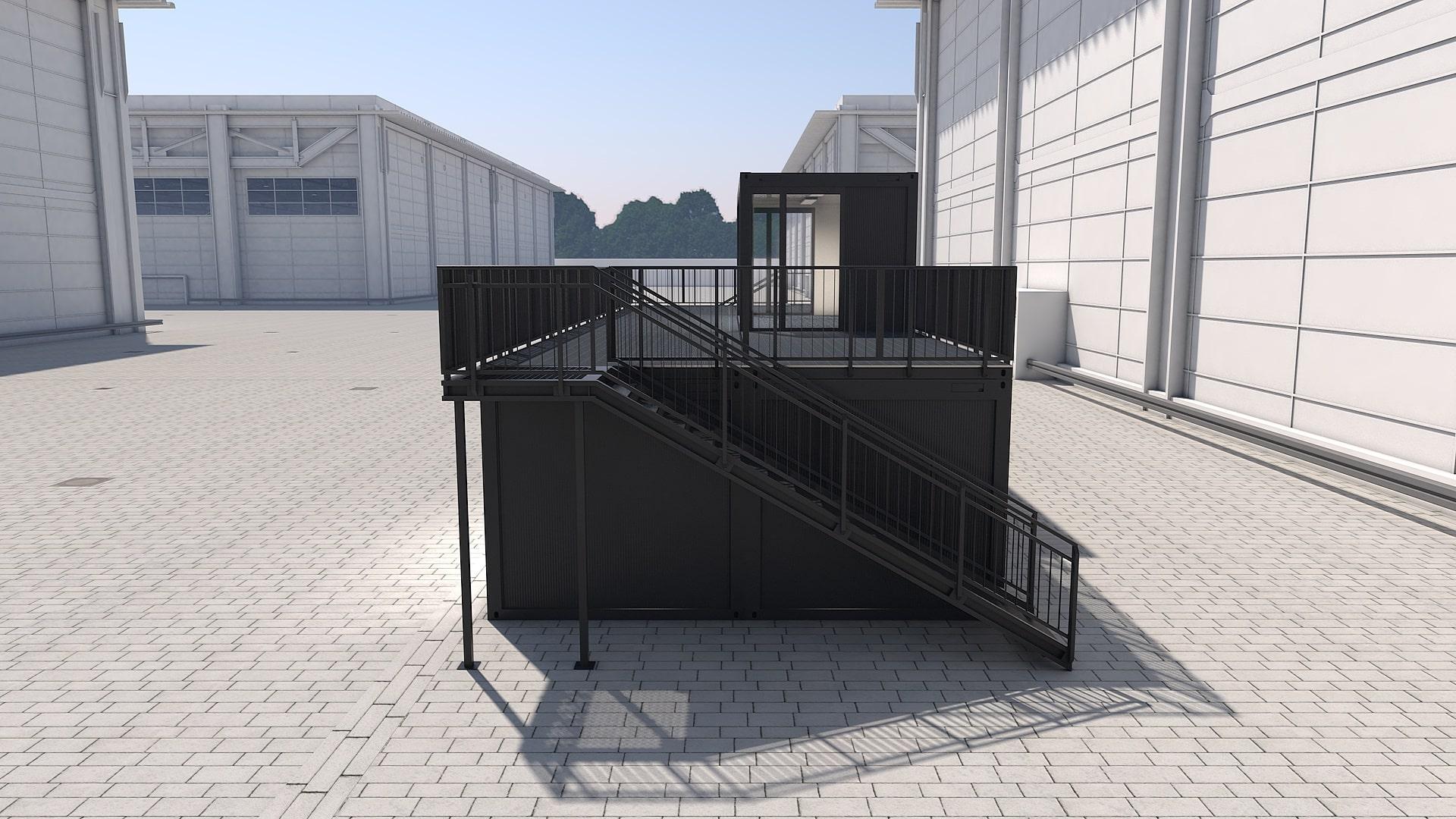 Container Modul M 26 - Ansicht 2