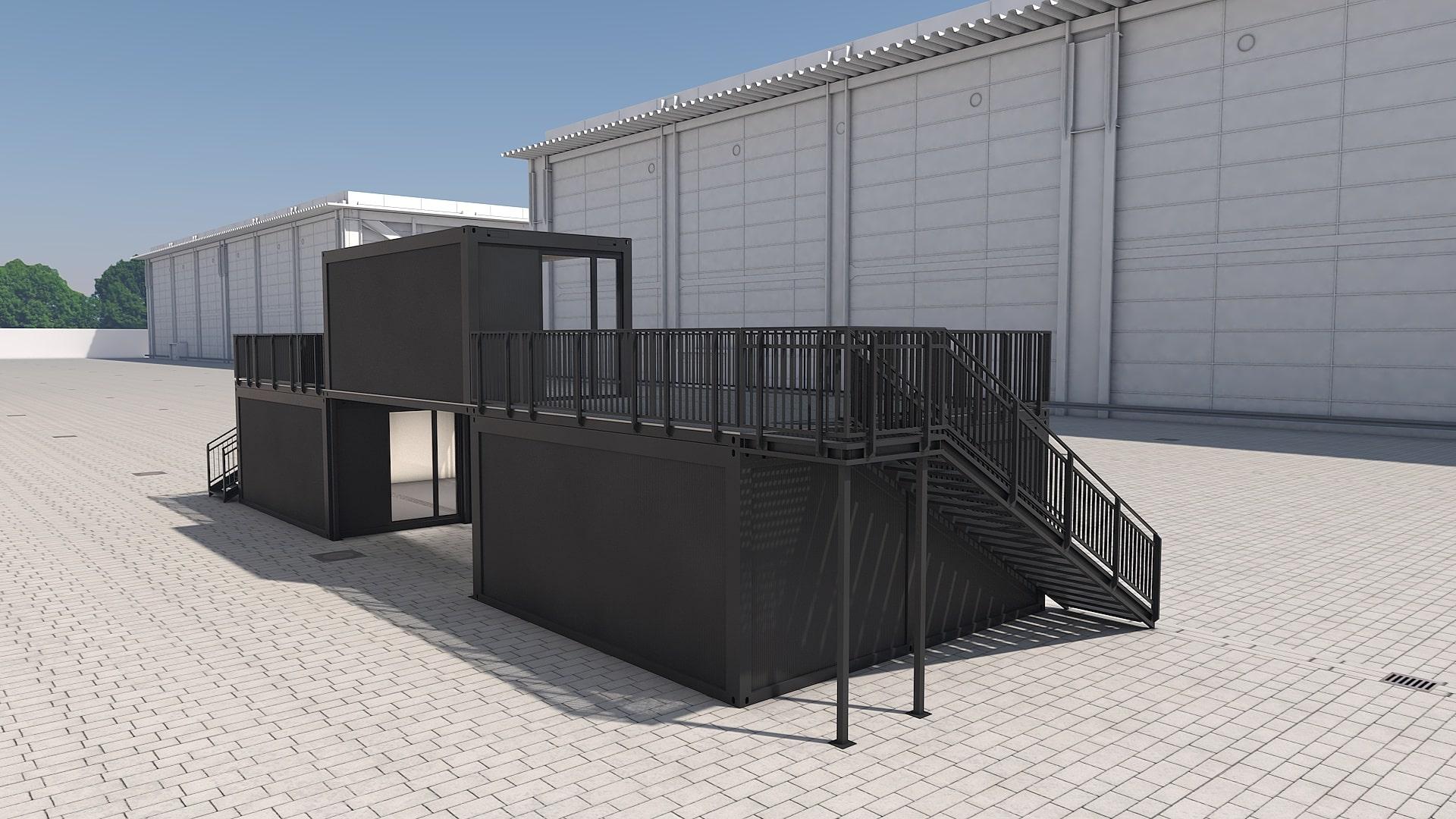 Container Modul M 26 - Ansicht 4