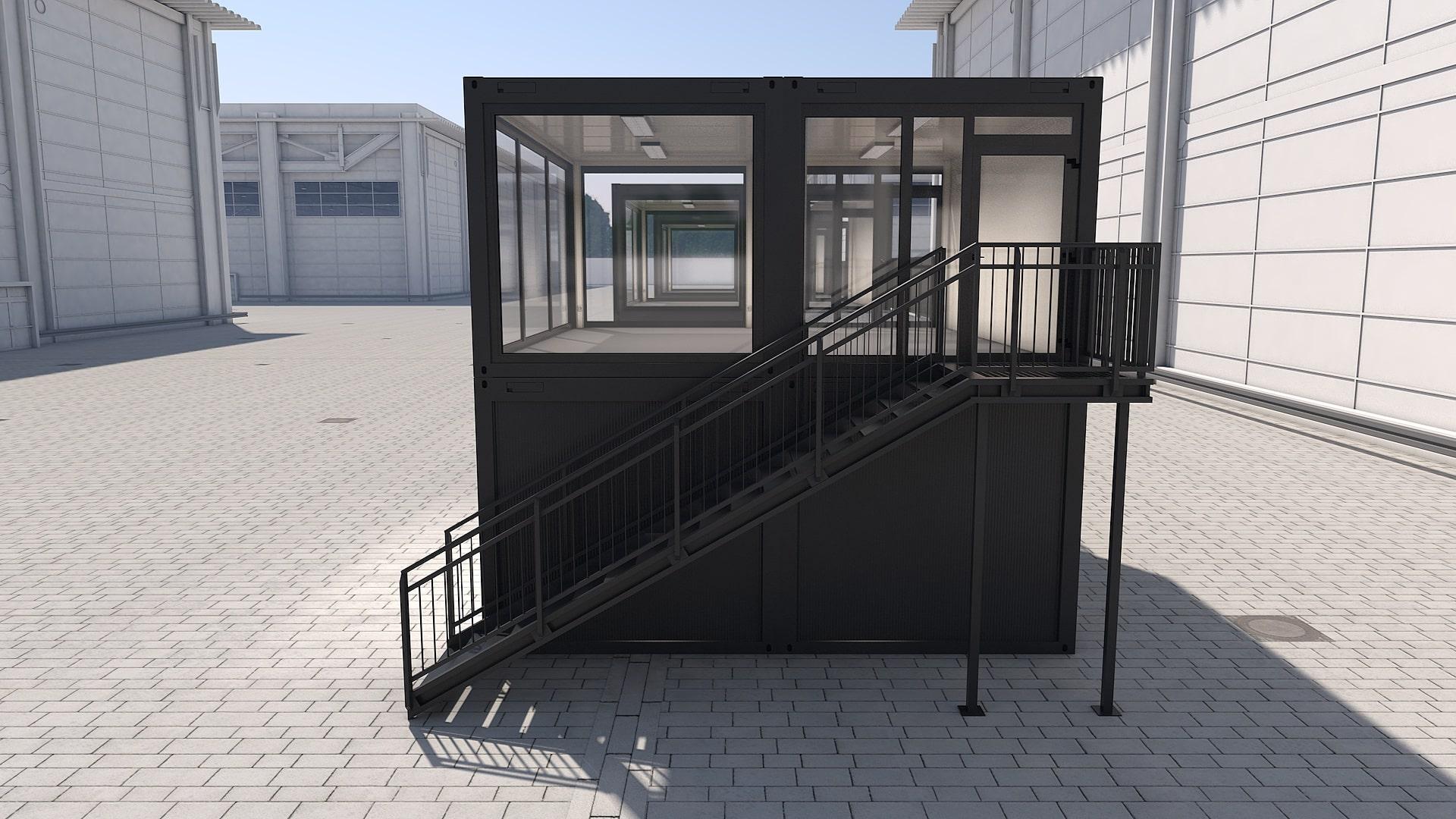 Container Modul M 29 - Ansicht 2