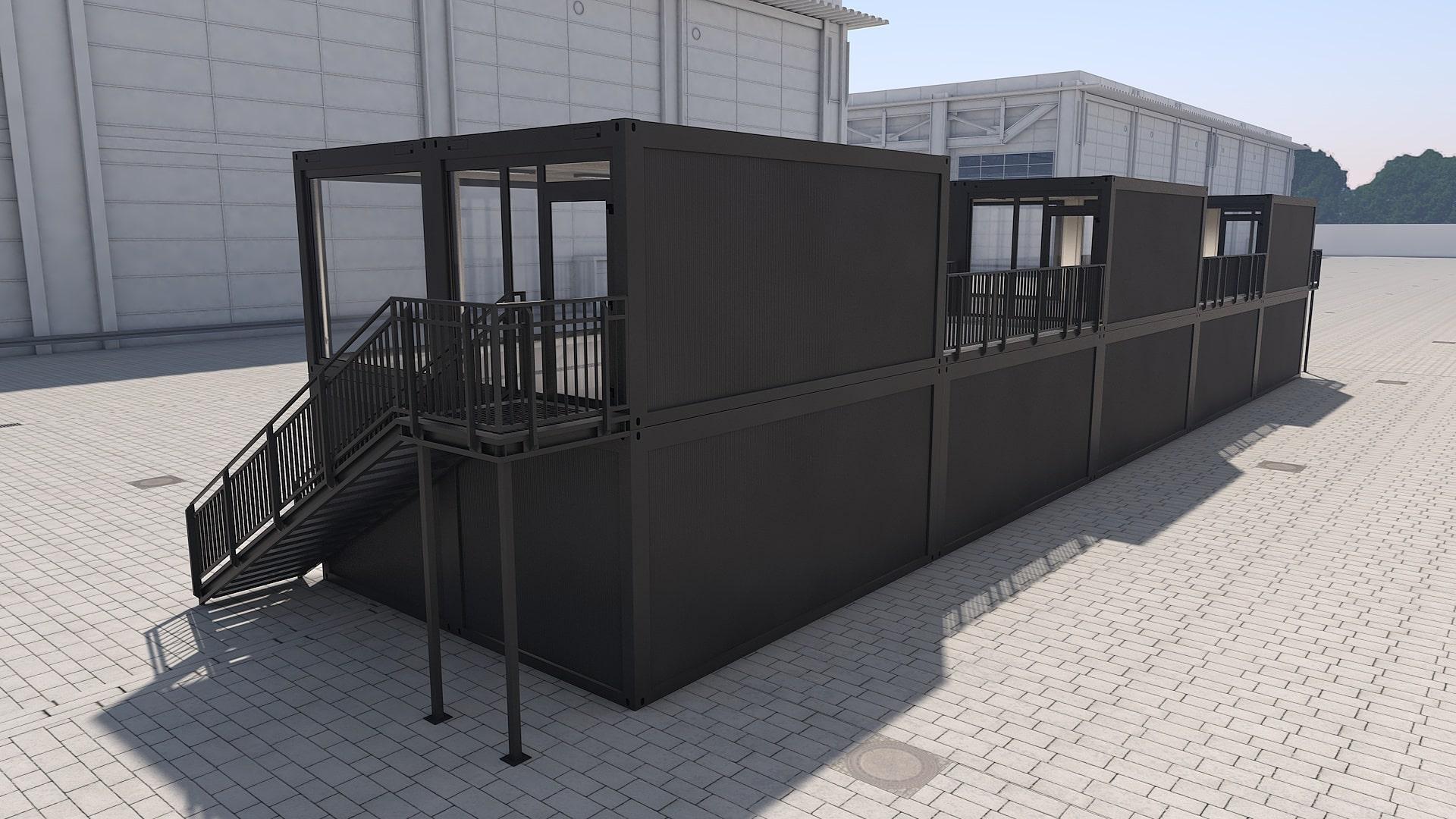 Container Modul M 29 - Ansicht 3