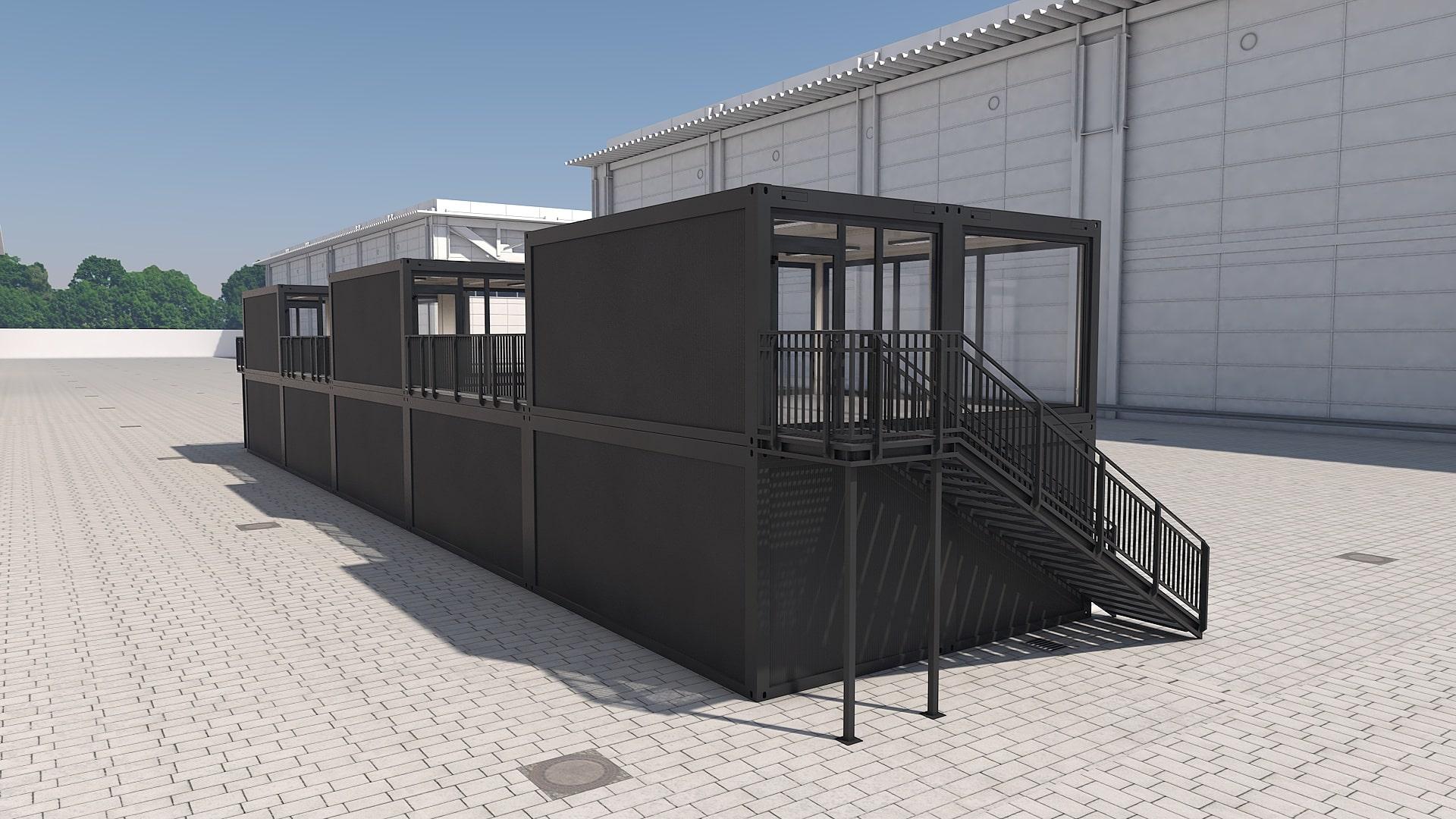 Container Modul M 29 - Ansicht 4