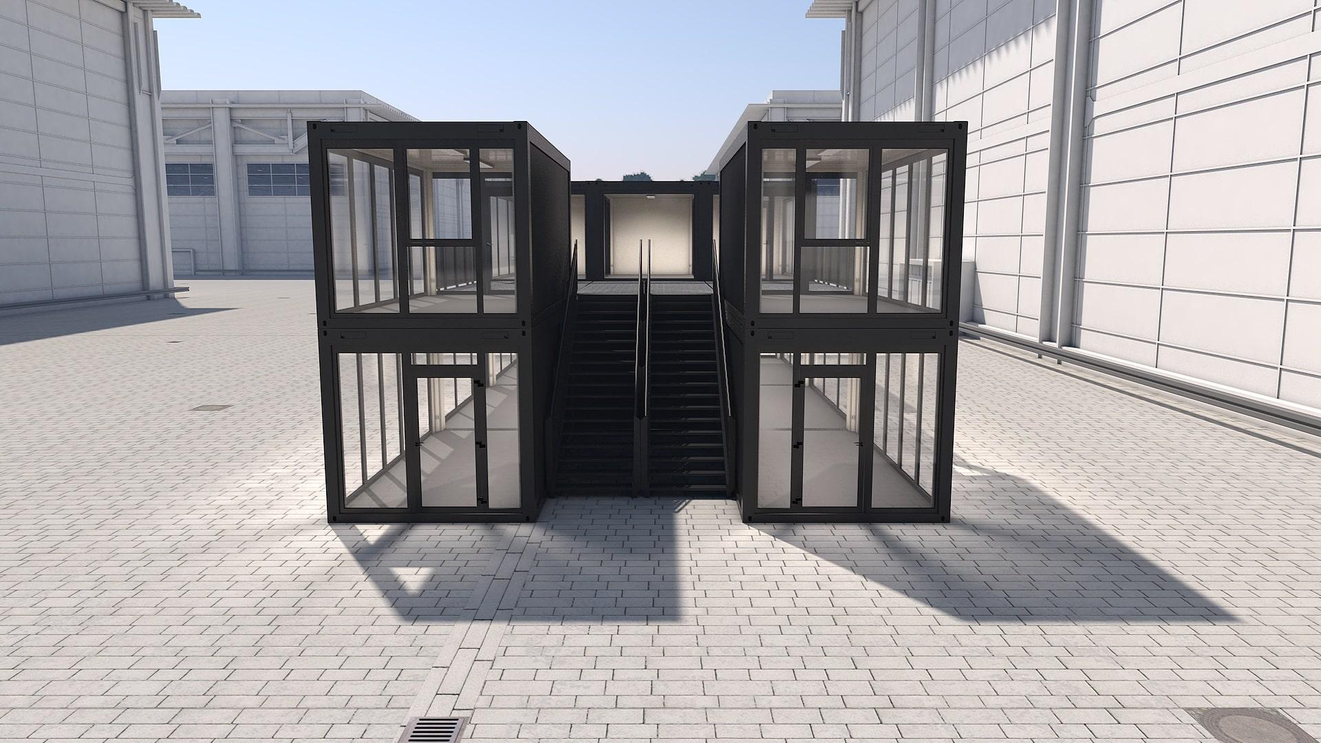 Container Modul M 30 - Ansicht 2