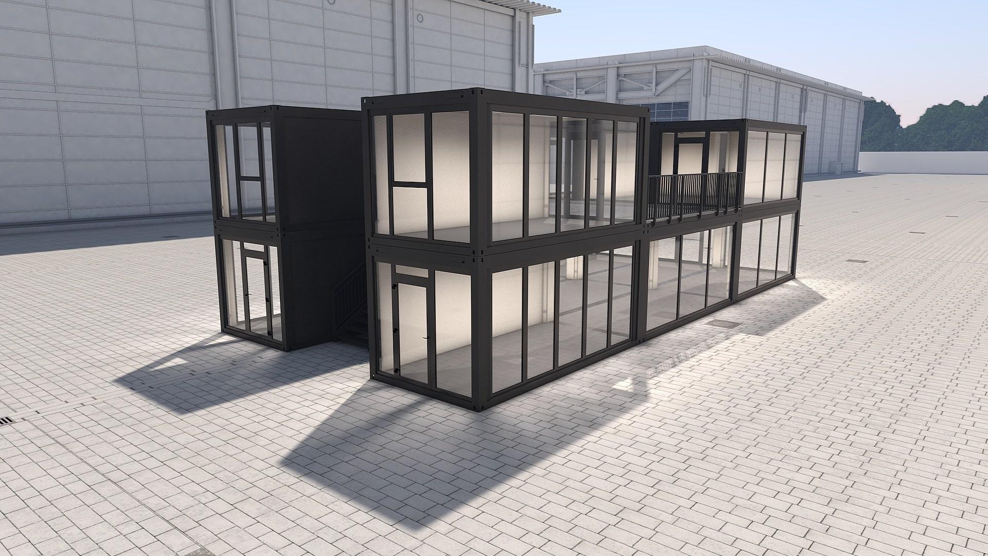 Container Modul M 30 - Ansicht 3