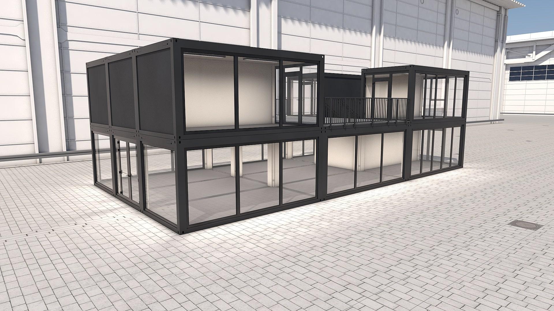 Container Modul M 30 - Ansicht 5