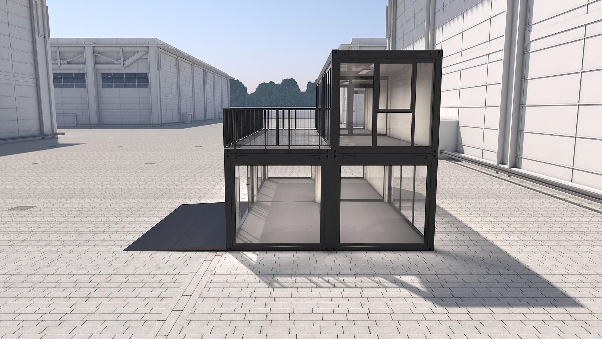 Container Modul M 31 - Ansicht 2