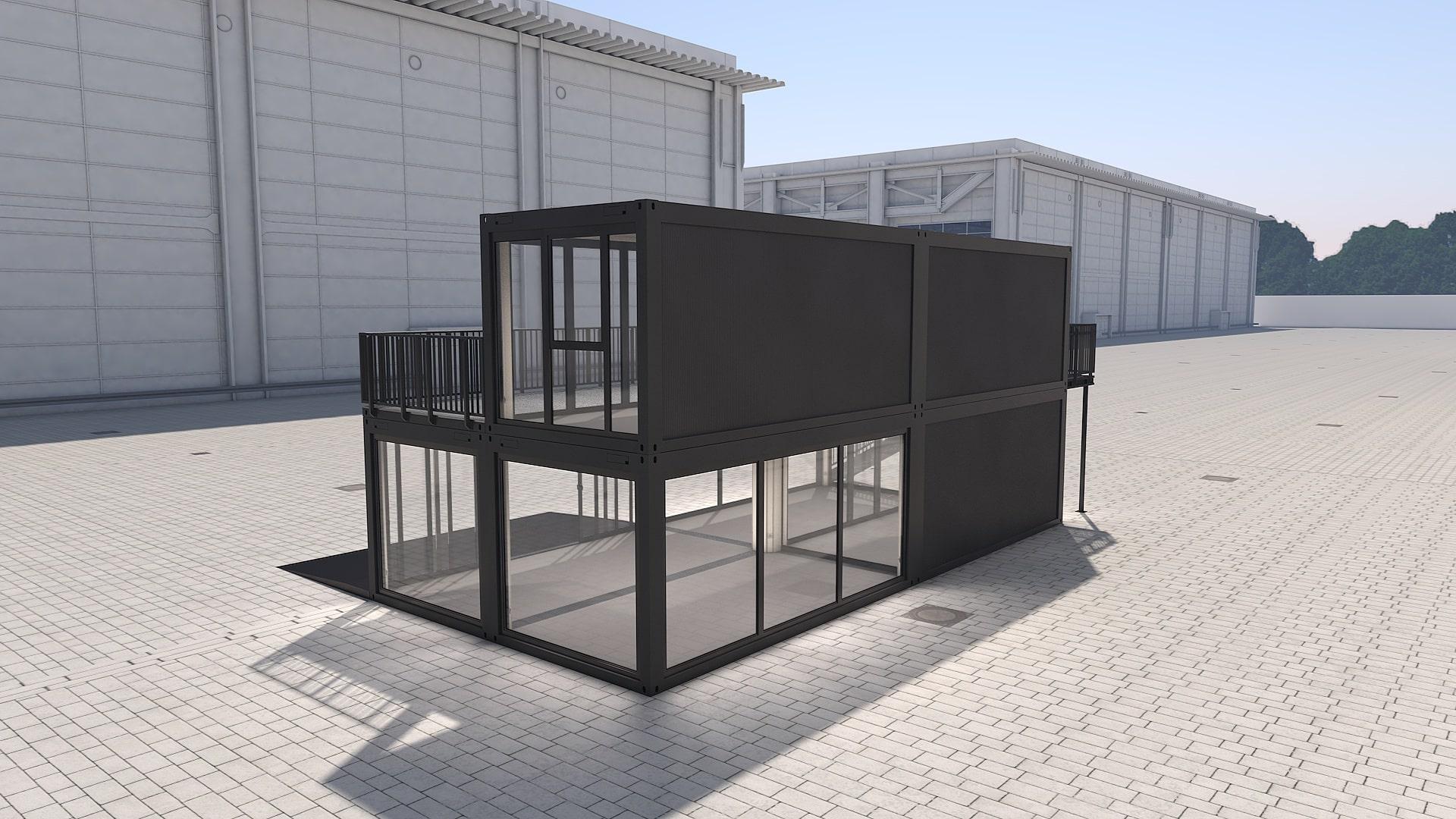 Container Modul M 31 - Ansicht 3