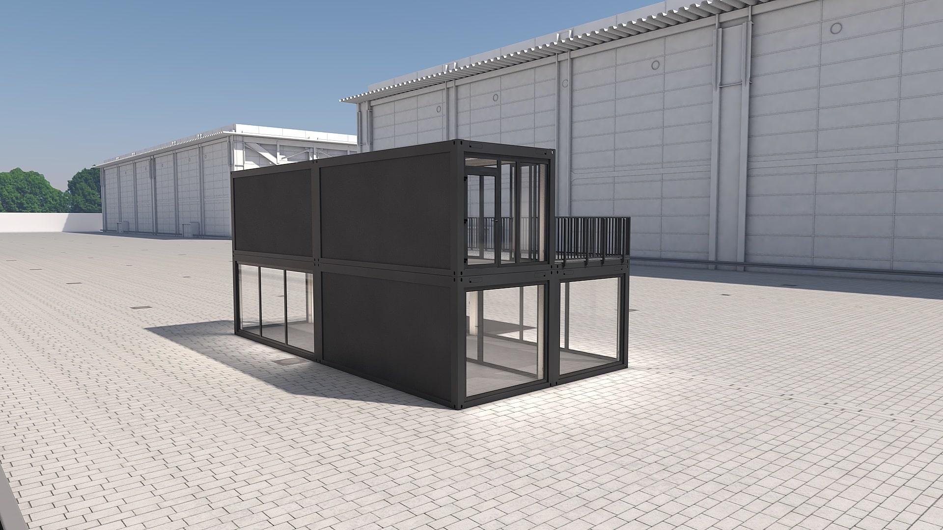 Container Modul M 31 - Ansicht 4