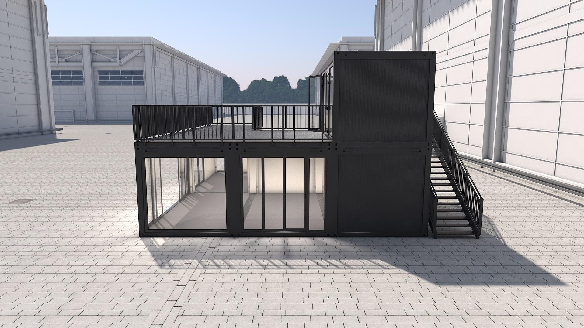 Container Modul M 32 - Ansicht 2