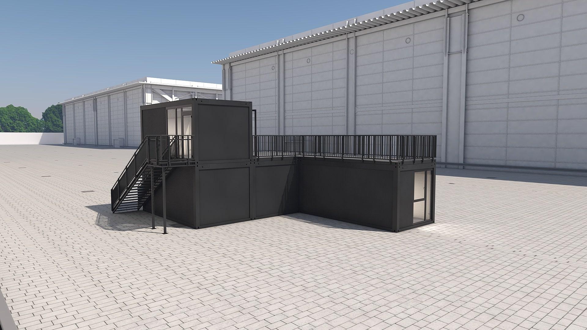 Container Modul M 32 - Ansicht 4