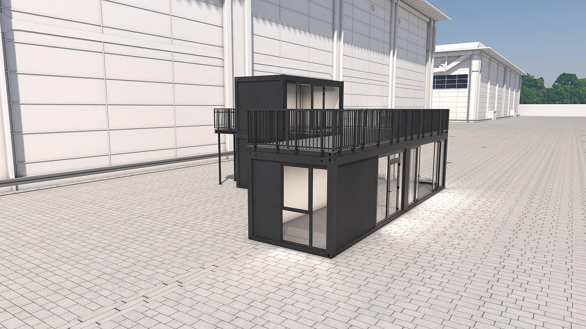 Container Modul M 32 - Ansicht 5
