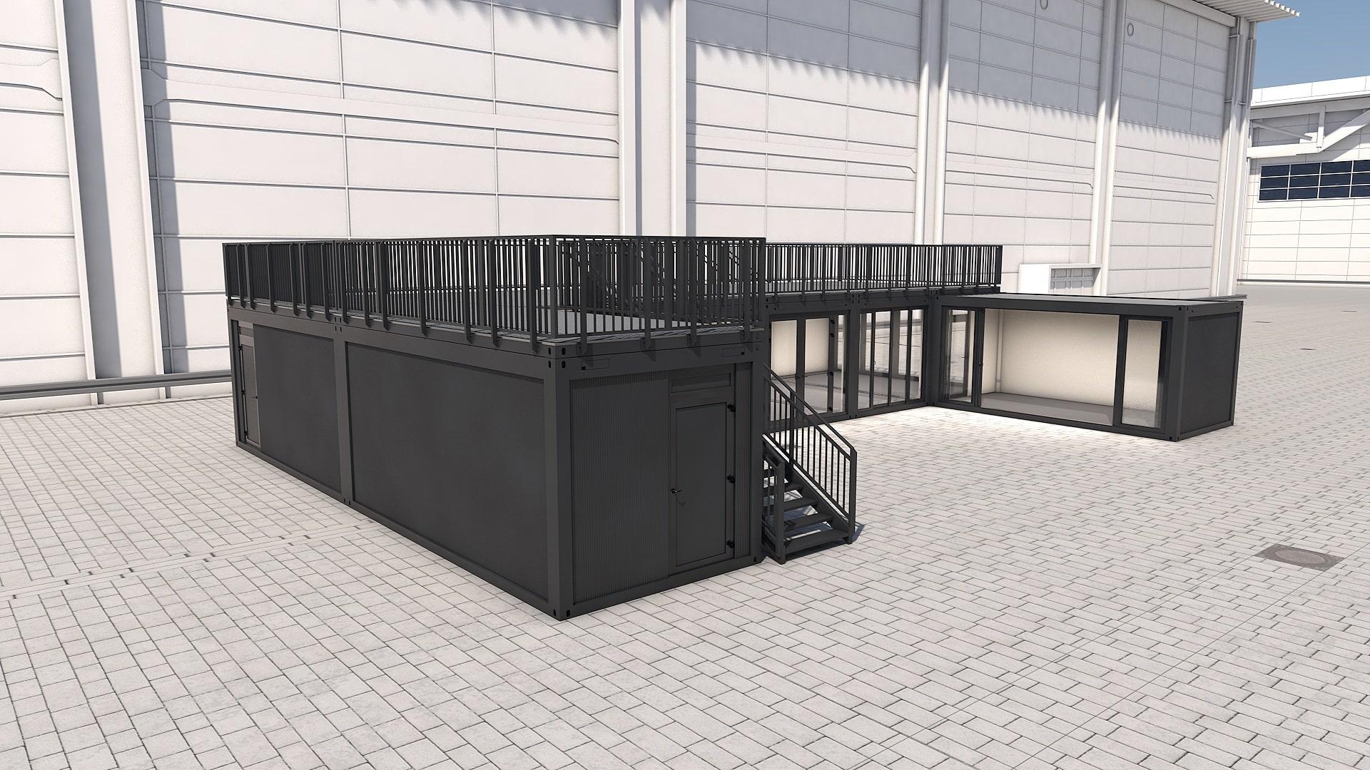 Container Modul M 33 - Ansicht 5