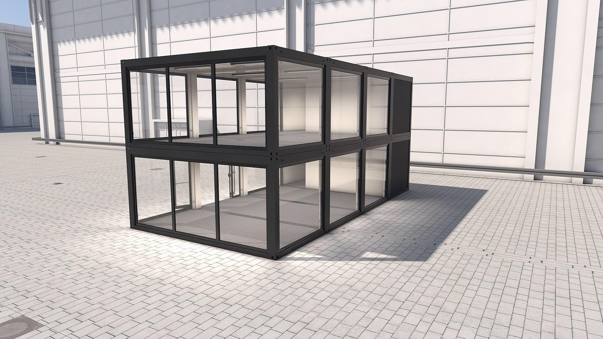 Container Modul M 34 - Ansicht 1