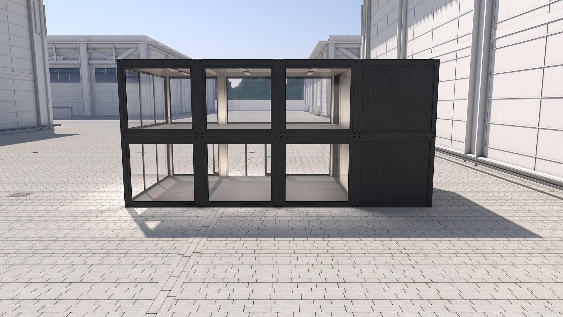 Container Modul M 34 - Ansicht 2