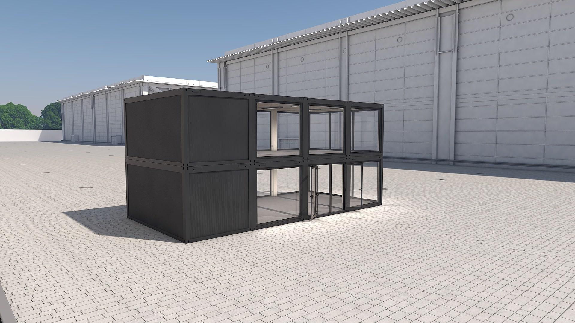 Container Modul M 34 - Ansicht 4