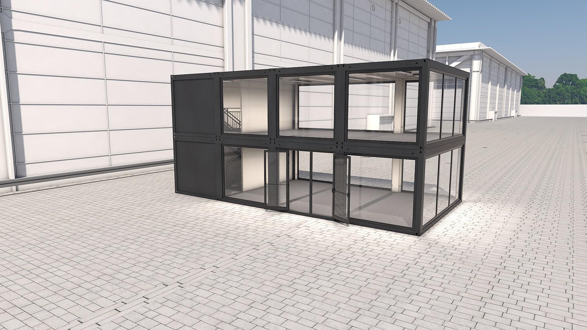 Container Modul M 34 - Ansicht 5