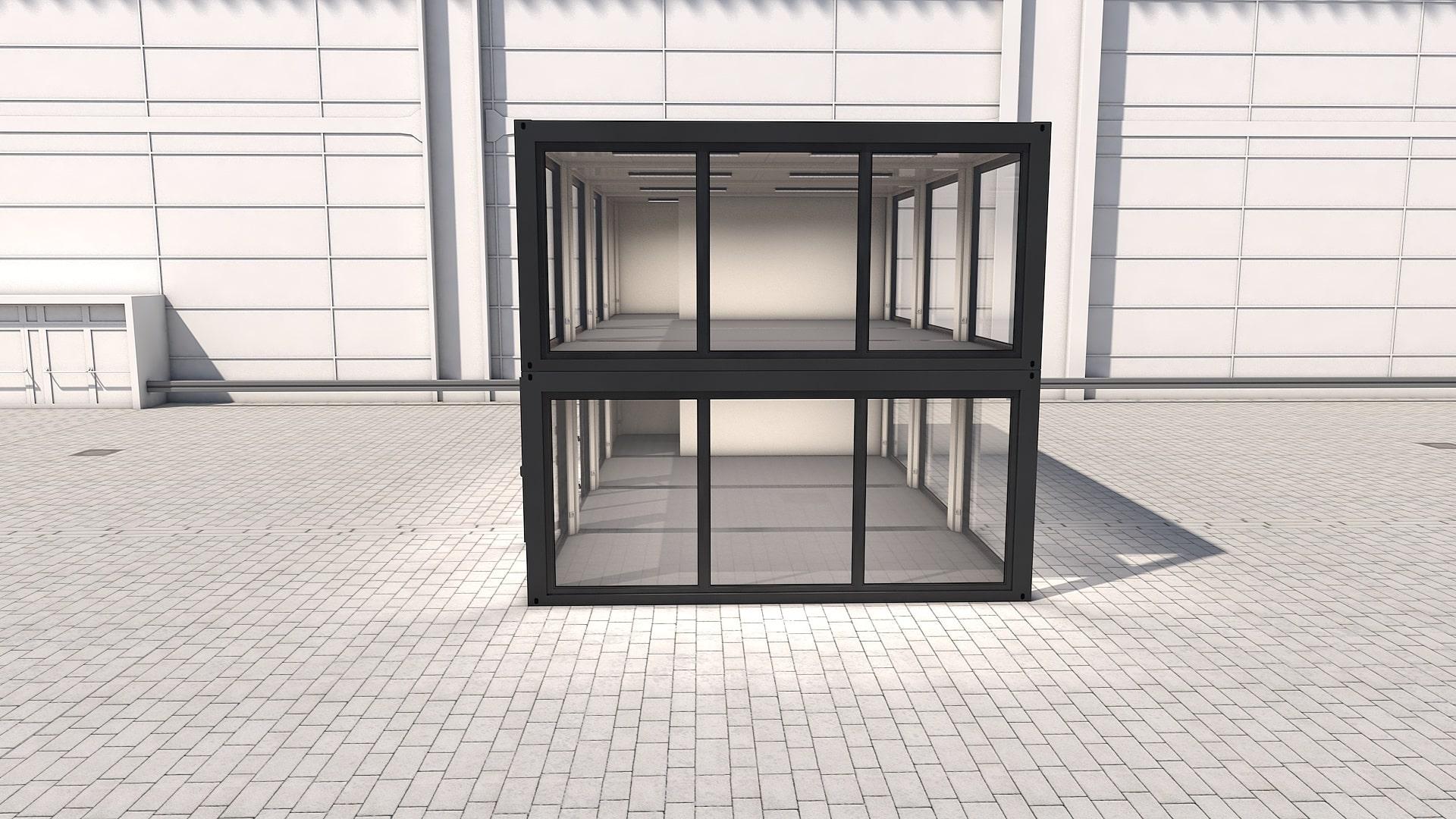 Container Modul M 34 - Ansicht 6