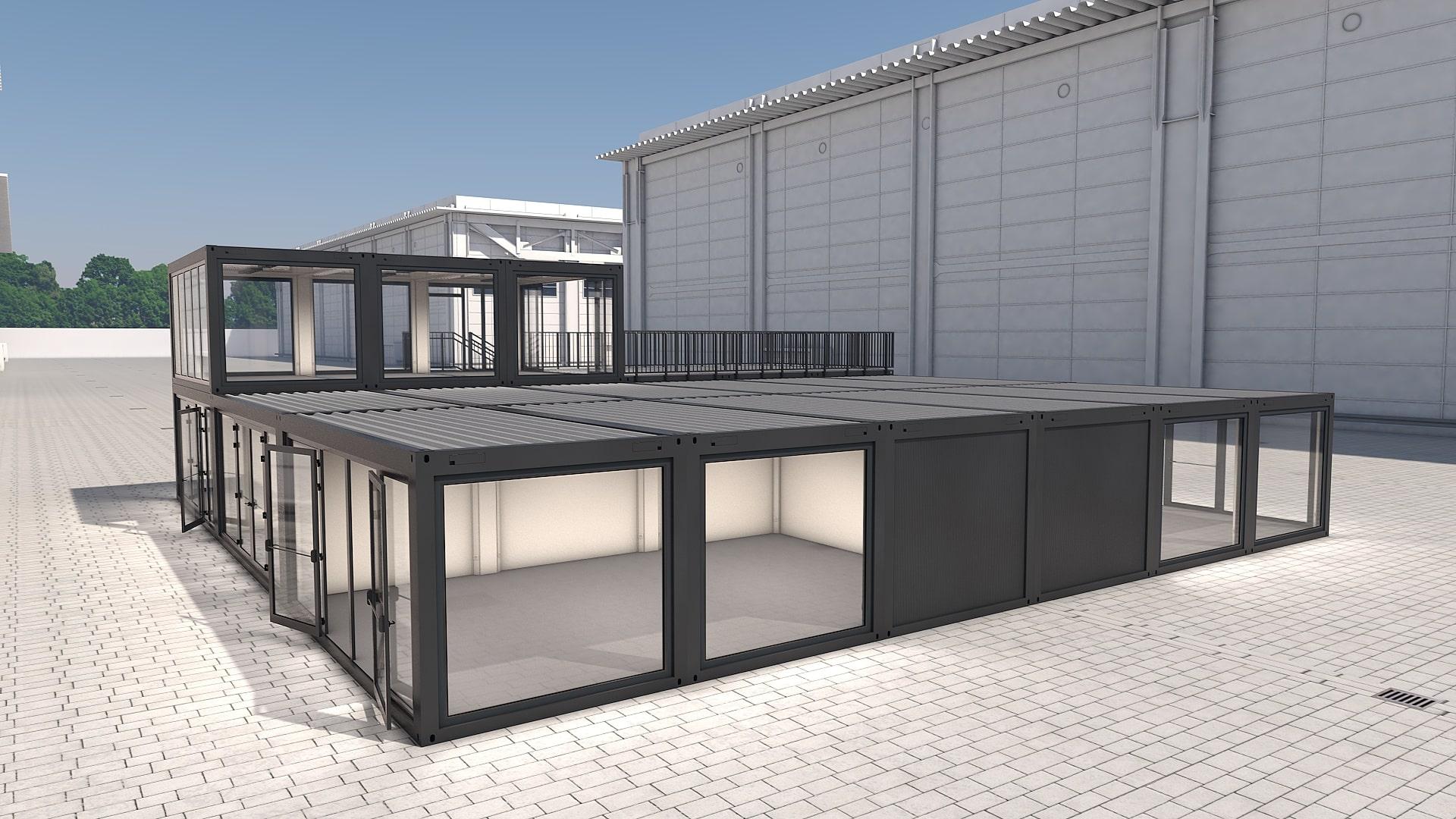 Container Modul M 36 - Ansicht 4