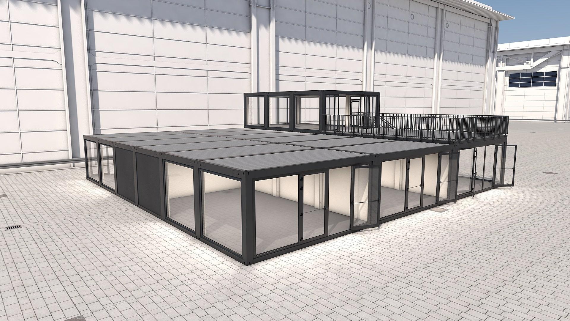 Container Modul M 36 - Ansicht 5