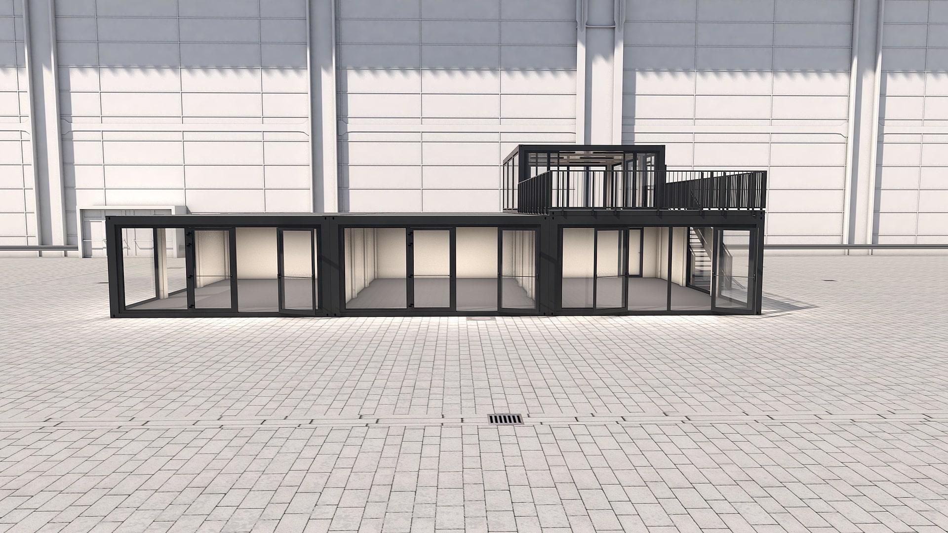 Container Modul M 36 - Ansicht 6