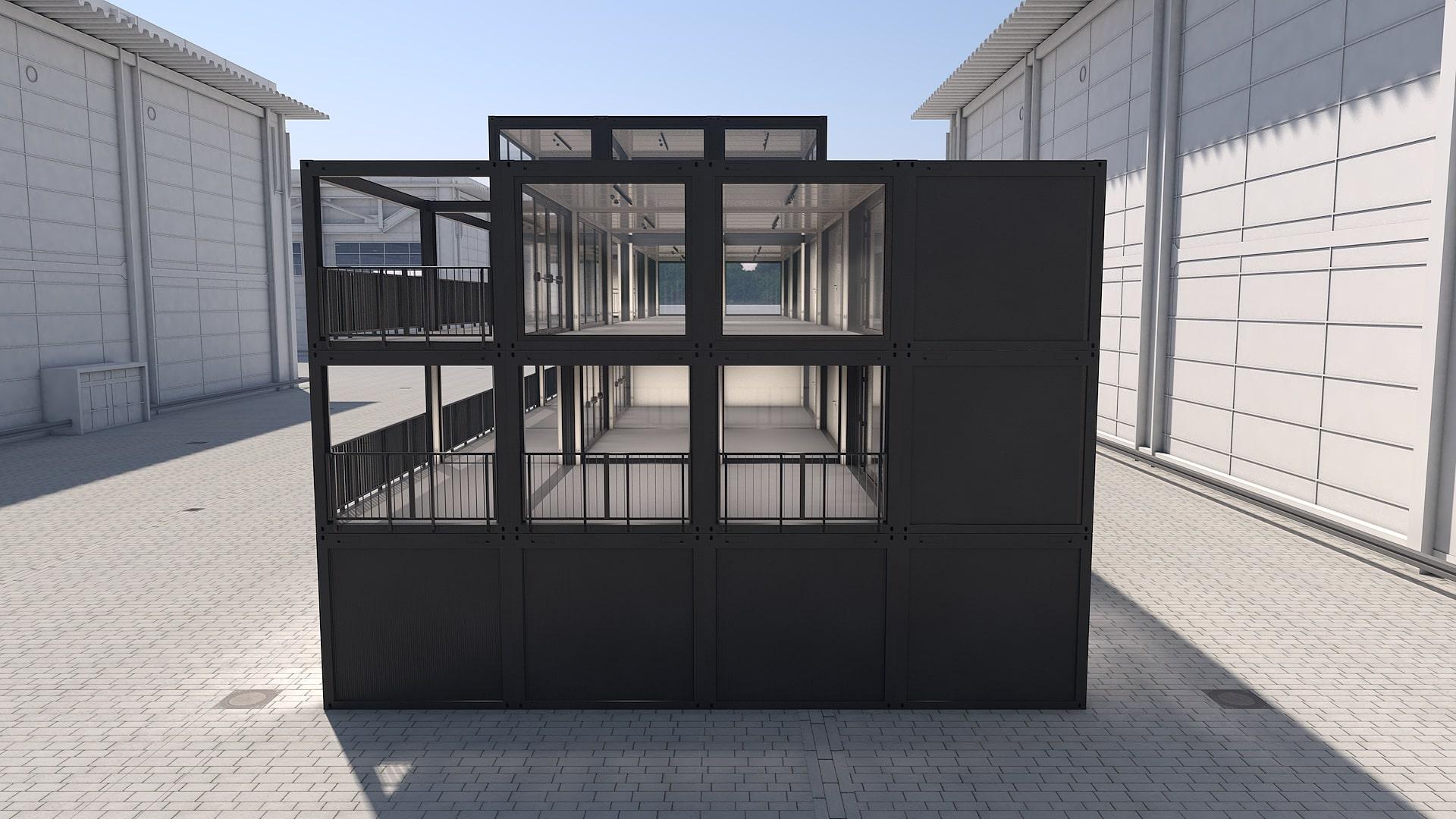 Container Modul M 37 - Ansicht 2