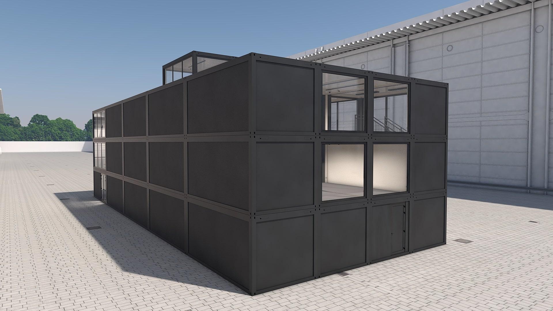 Container Modul M 37 - Ansicht 4