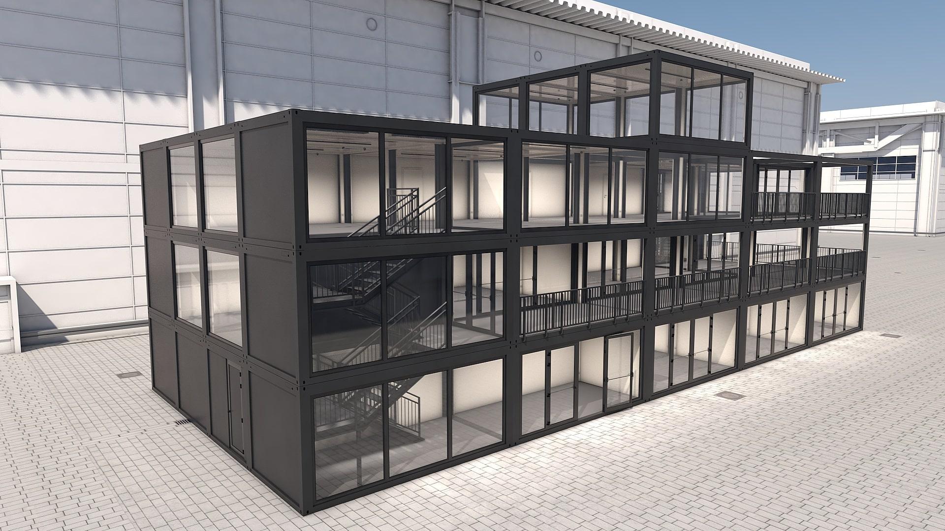 Container Modul M 37 - Ansicht 5