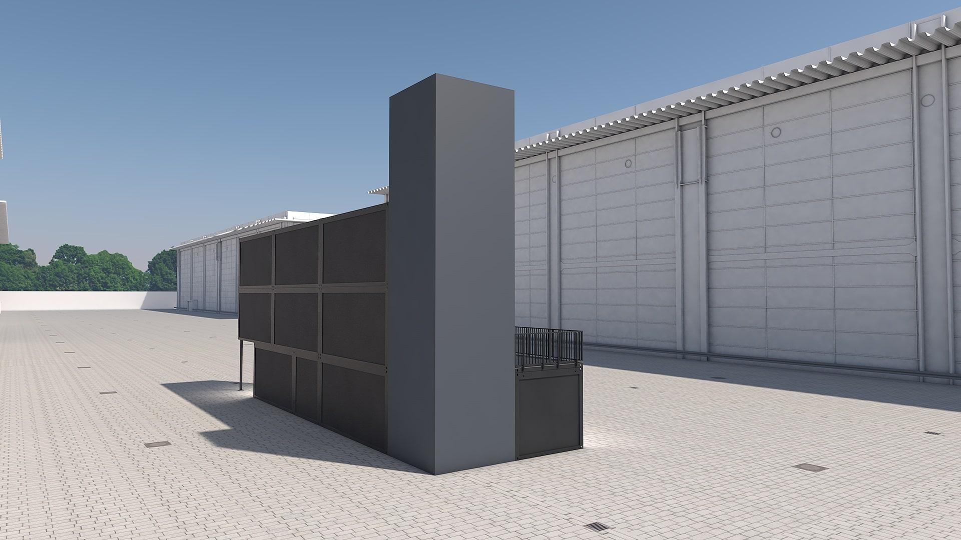 Container Modul M 38 - Ansicht 4