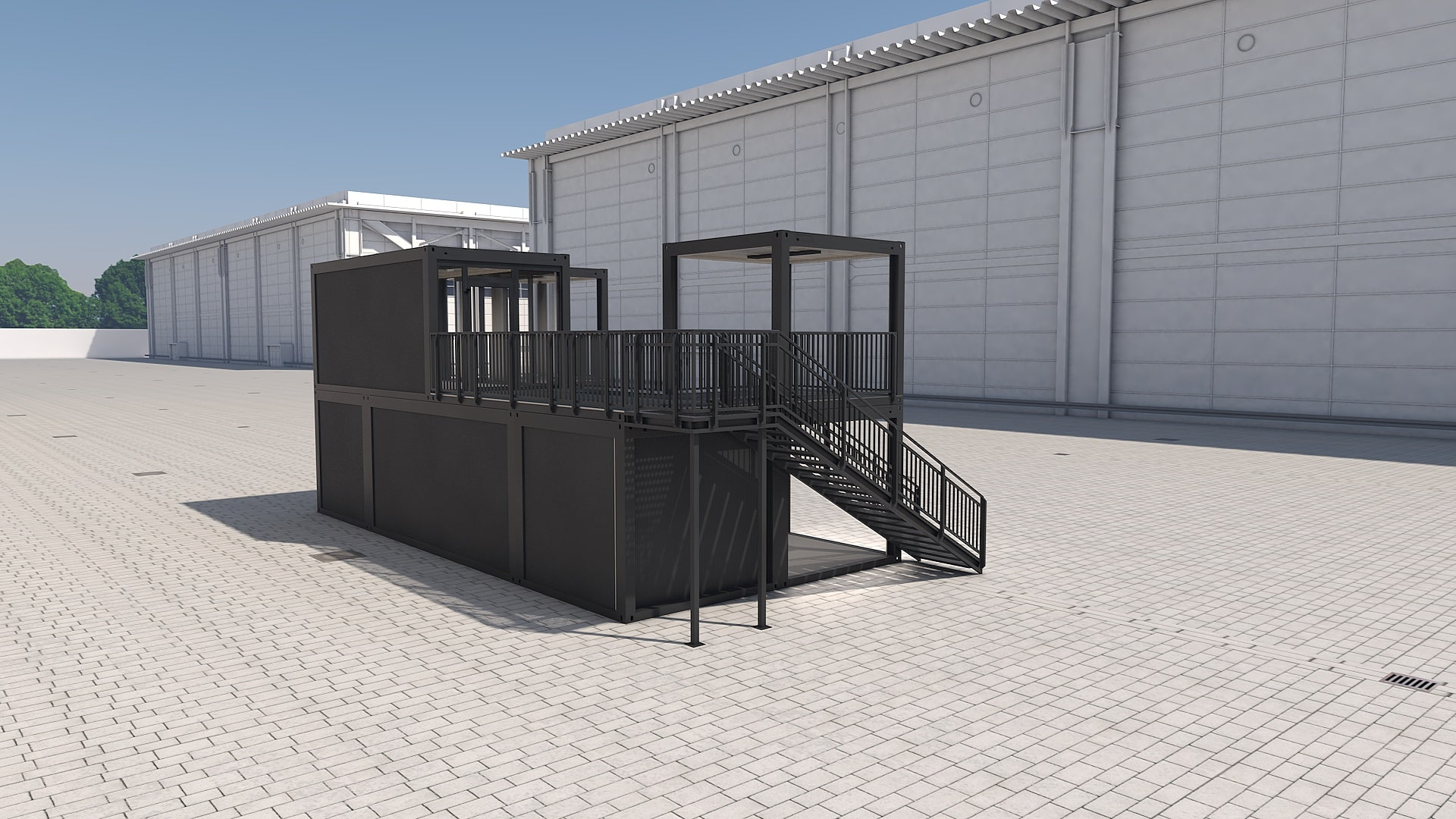 Container Modul M 39 - Ansicht 4