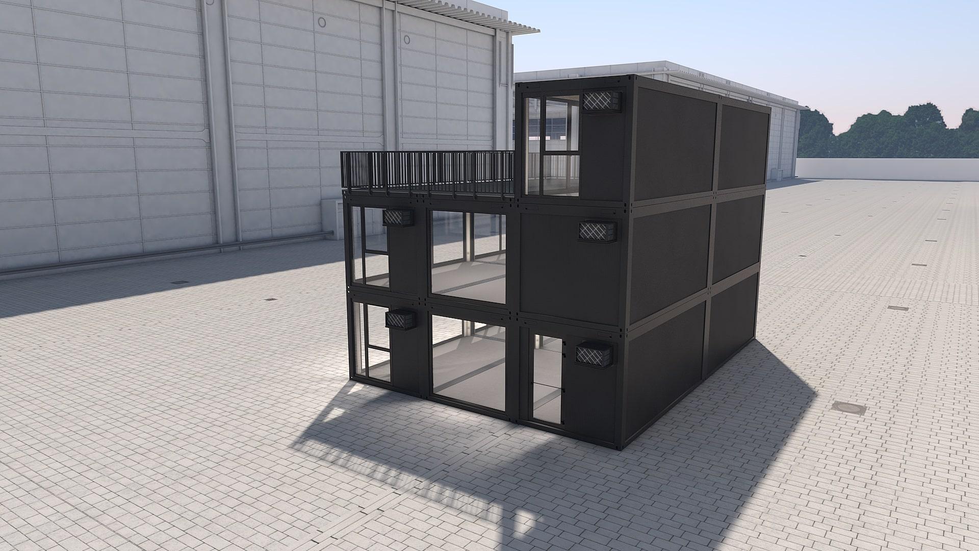 Container Modul M 41 - Ansicht 3