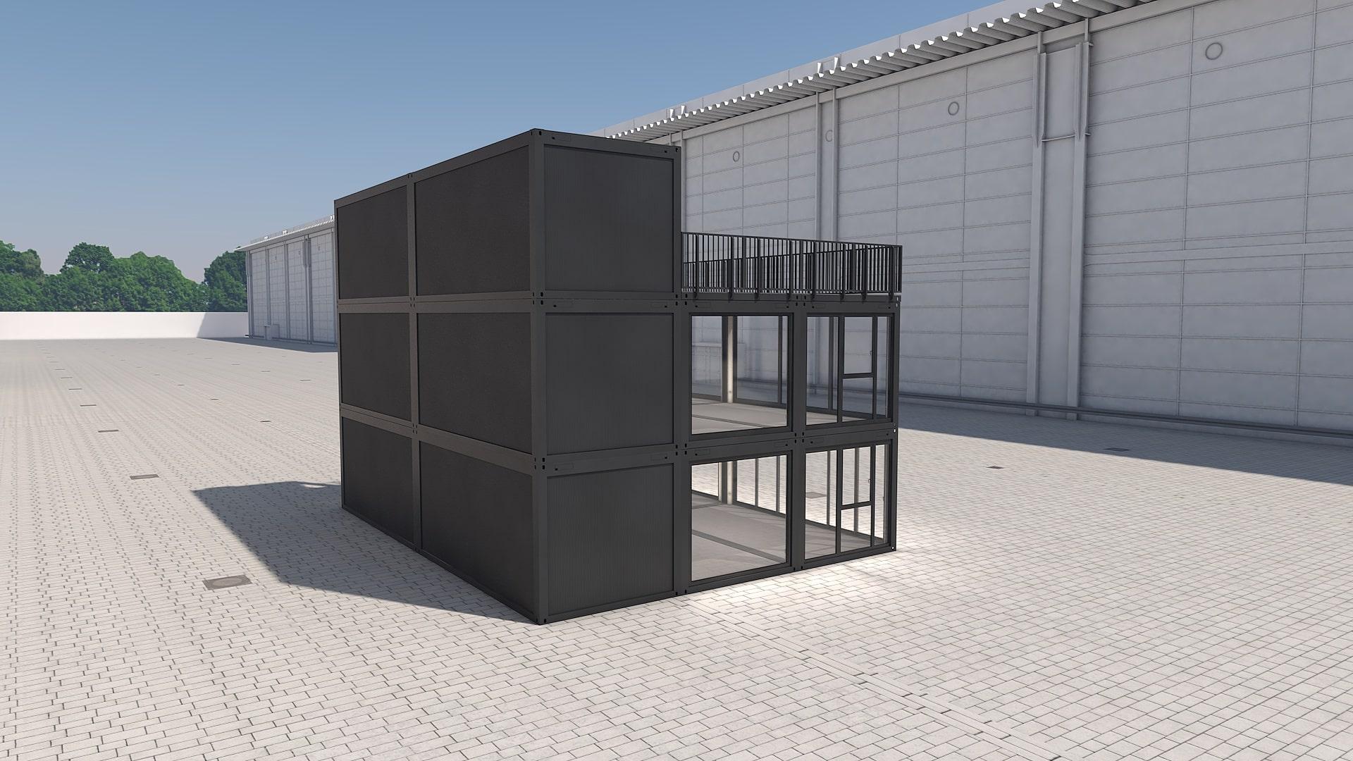 Container Modul M 41 - Ansicht 4