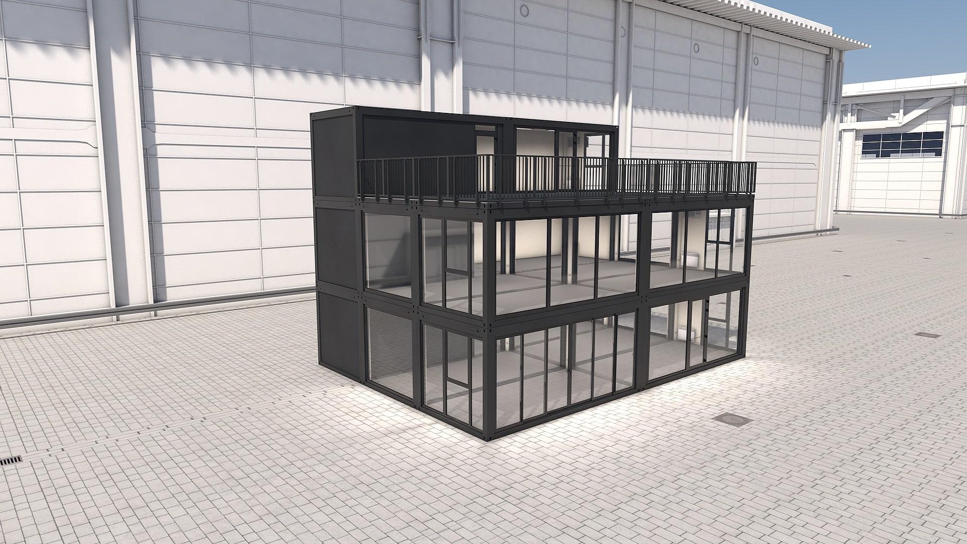 Container Modul M 41 - Ansicht 5