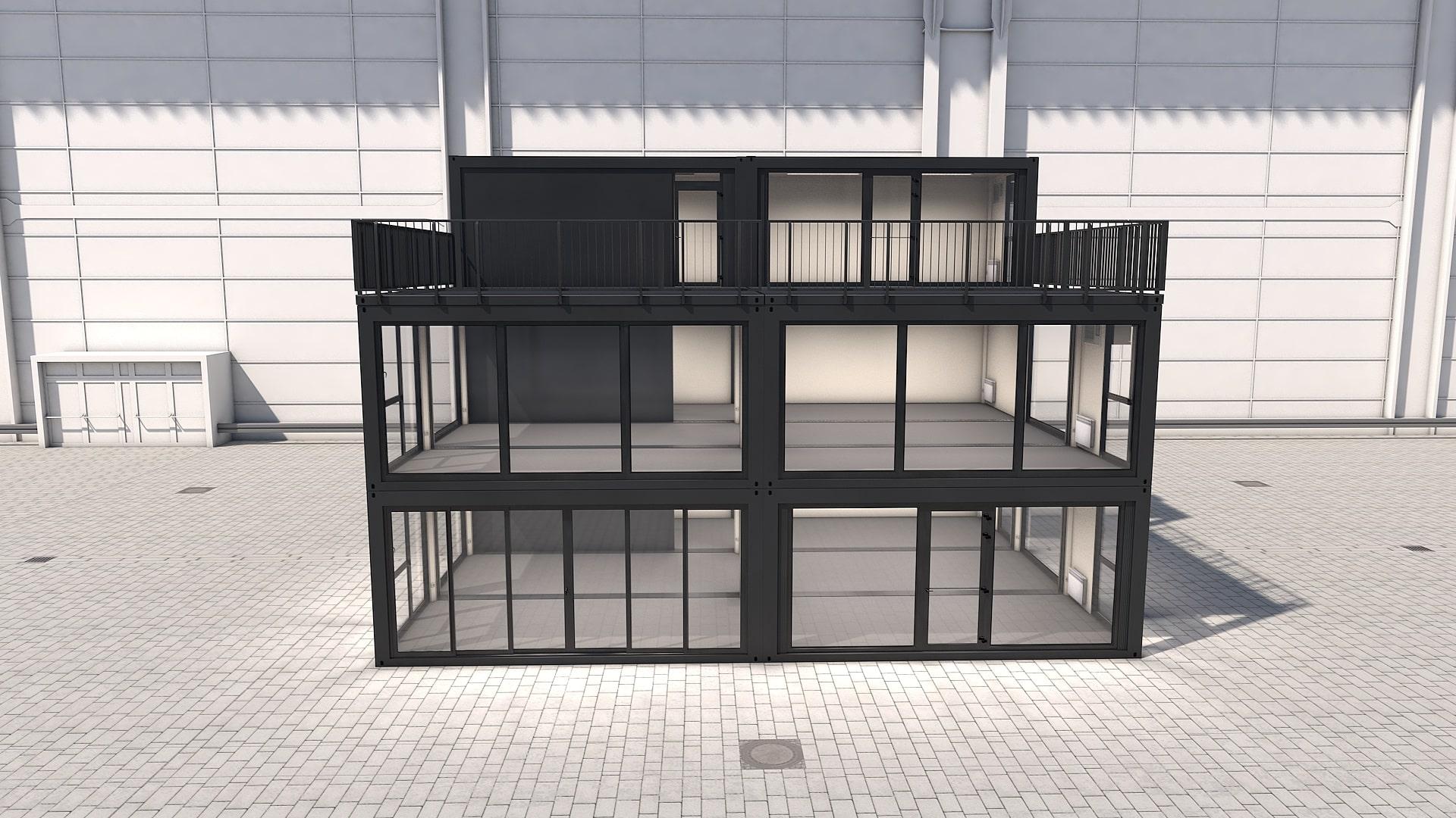 Container Modul M 41 - Ansicht 6