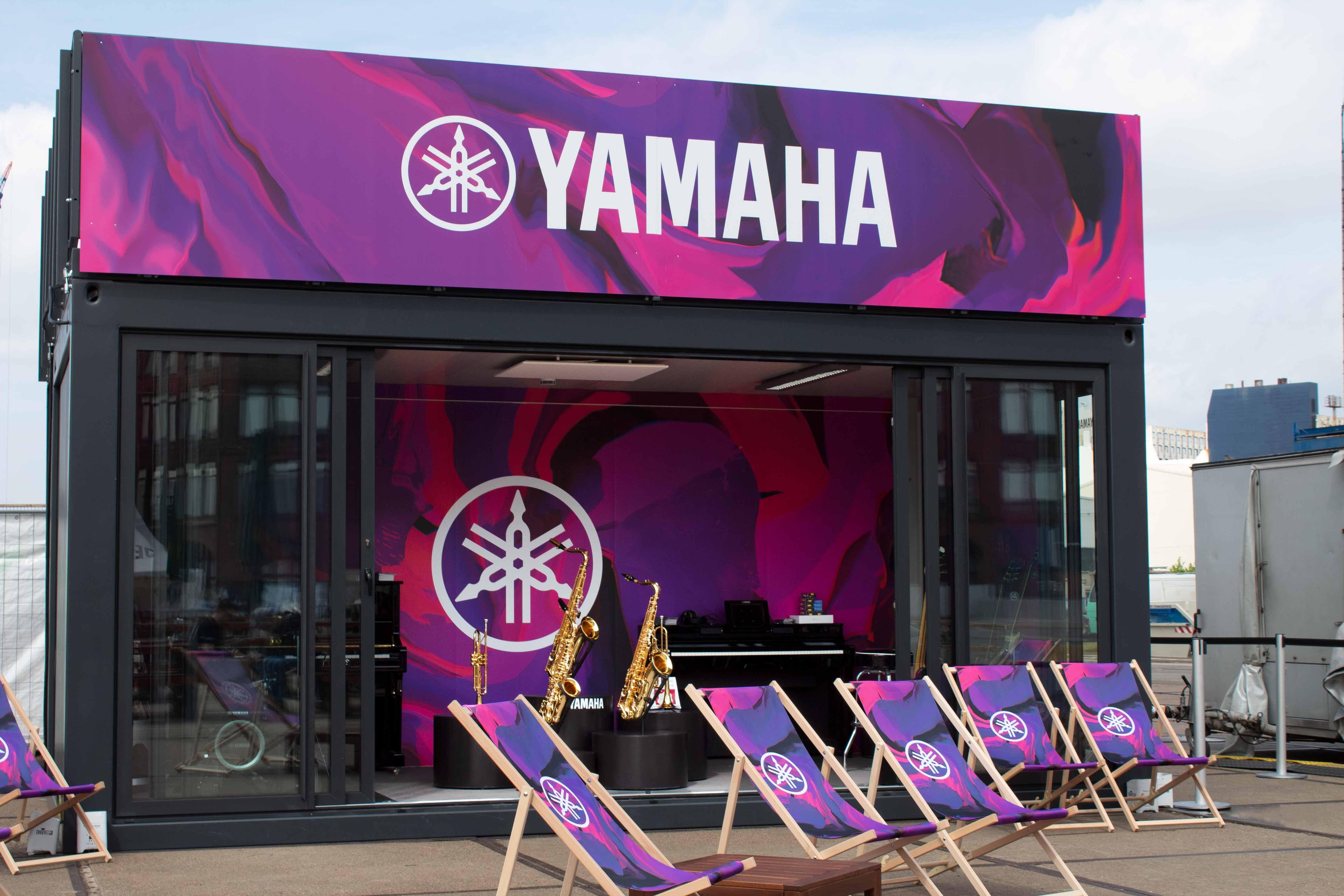 Festival-Container-Eventarchitektur-Eventcontainer-Event Container -Yamaha-Festival