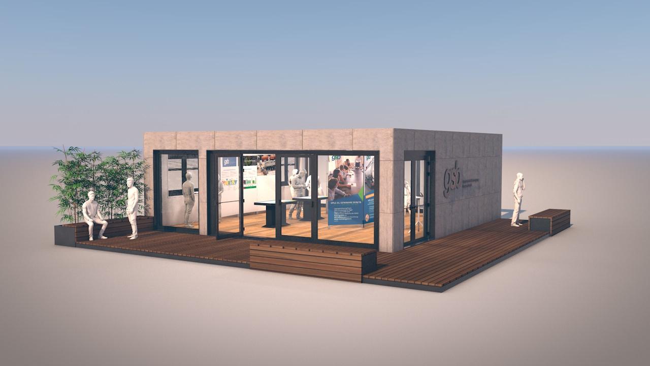 Containermodul Ausstellung 01
