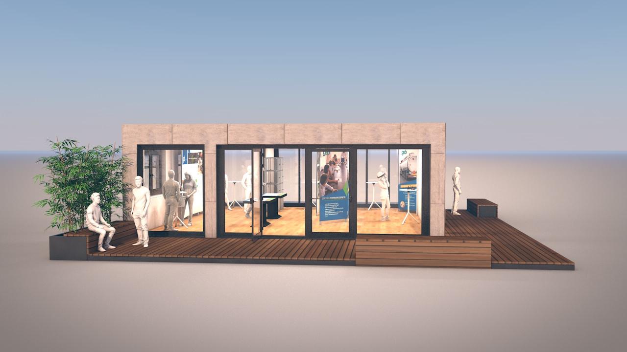 Containermodul Ausstellung 02