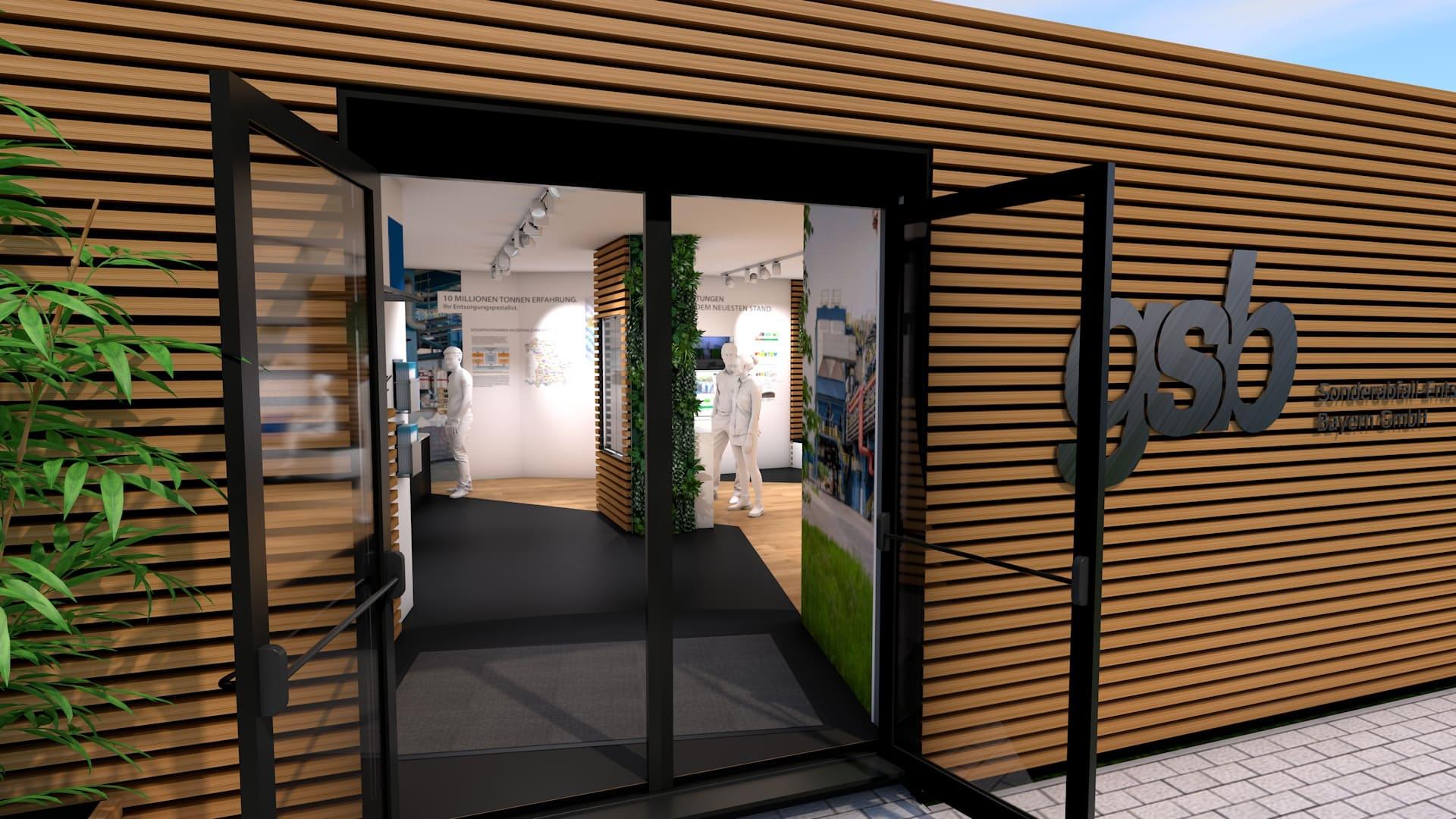 Modulbau Ausstellung Entwurf GSB 04