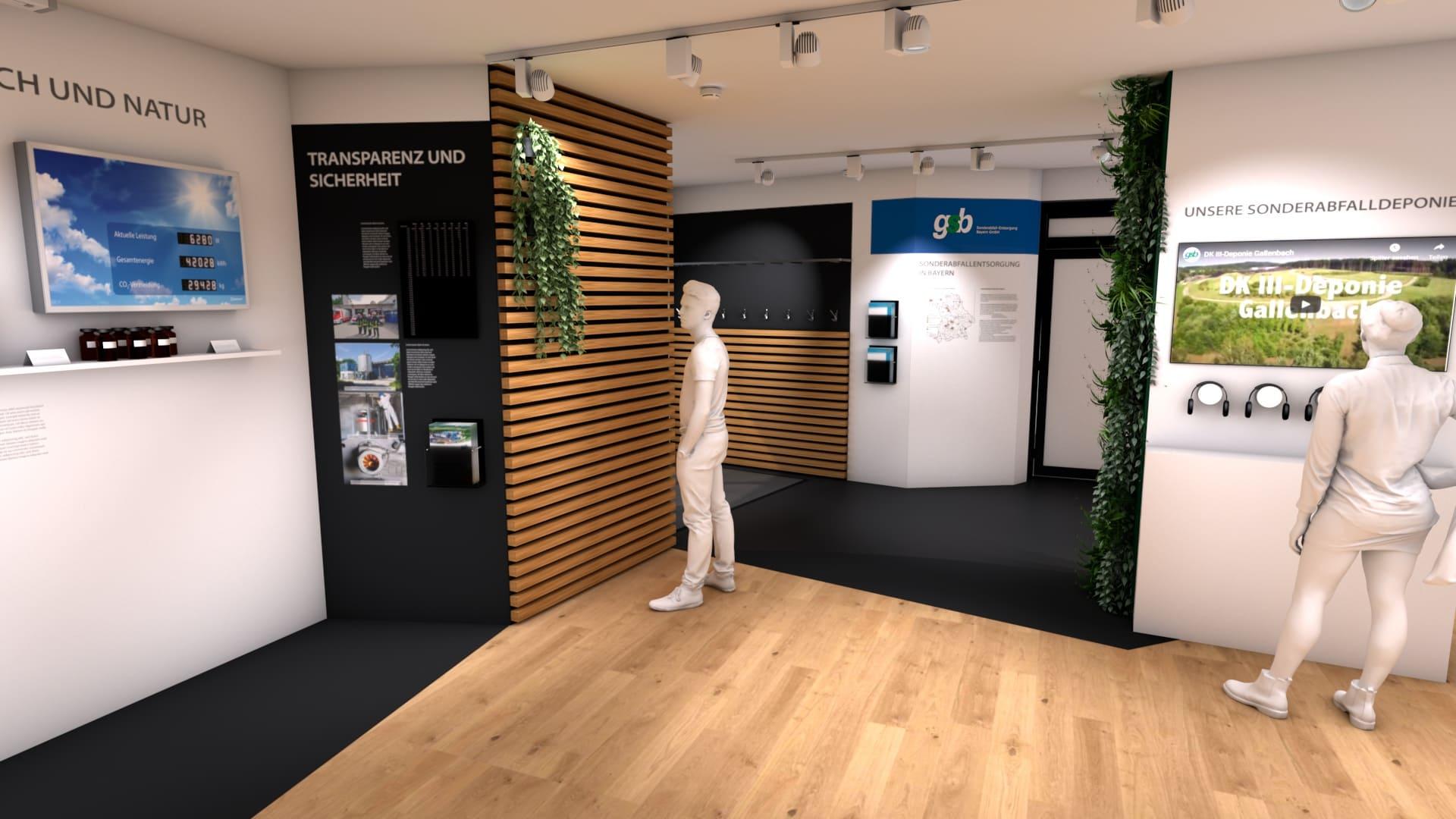Modulbau Ausstellung Entwurf GSB 10