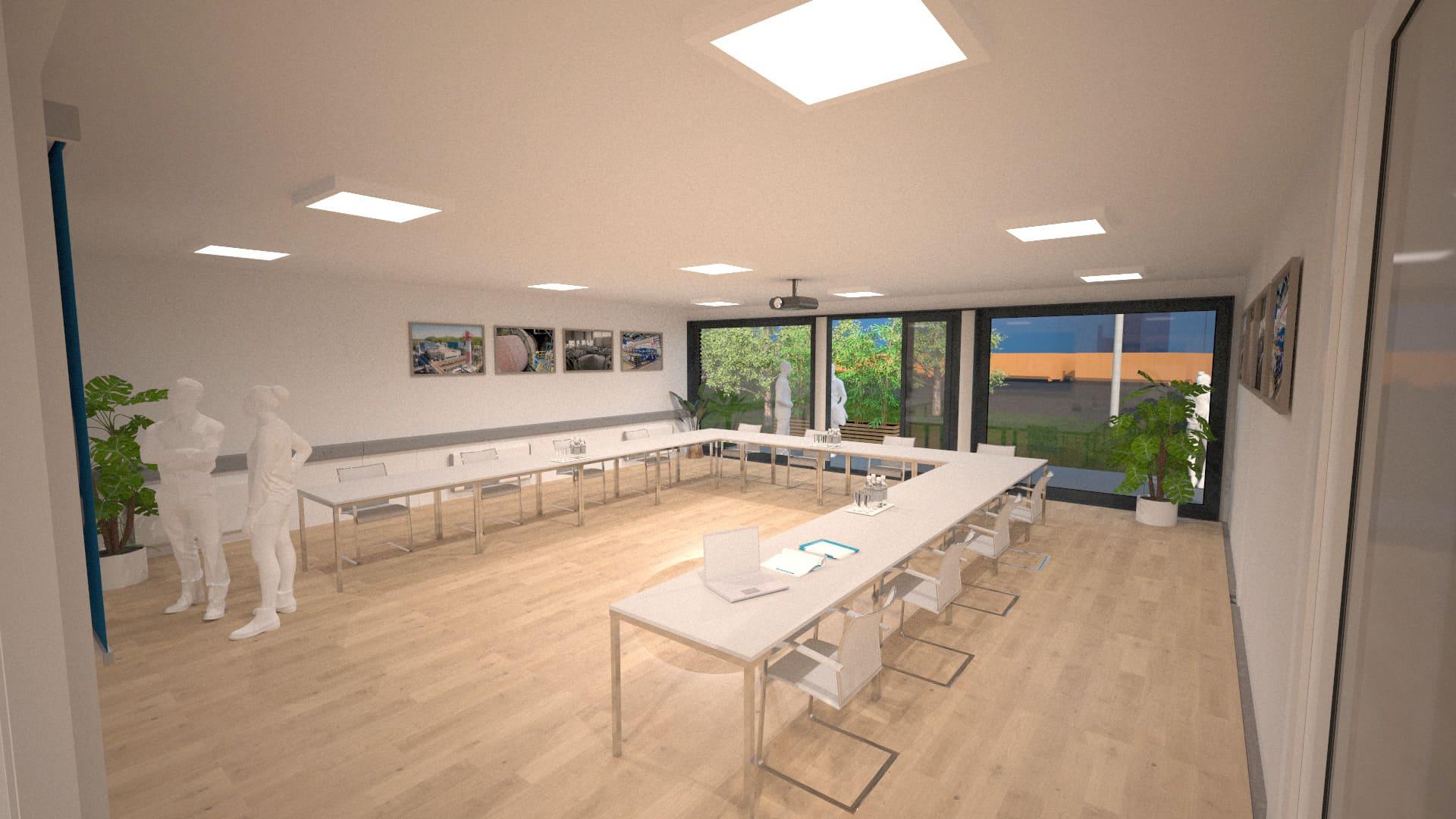 Modulares Bürogebäude 05