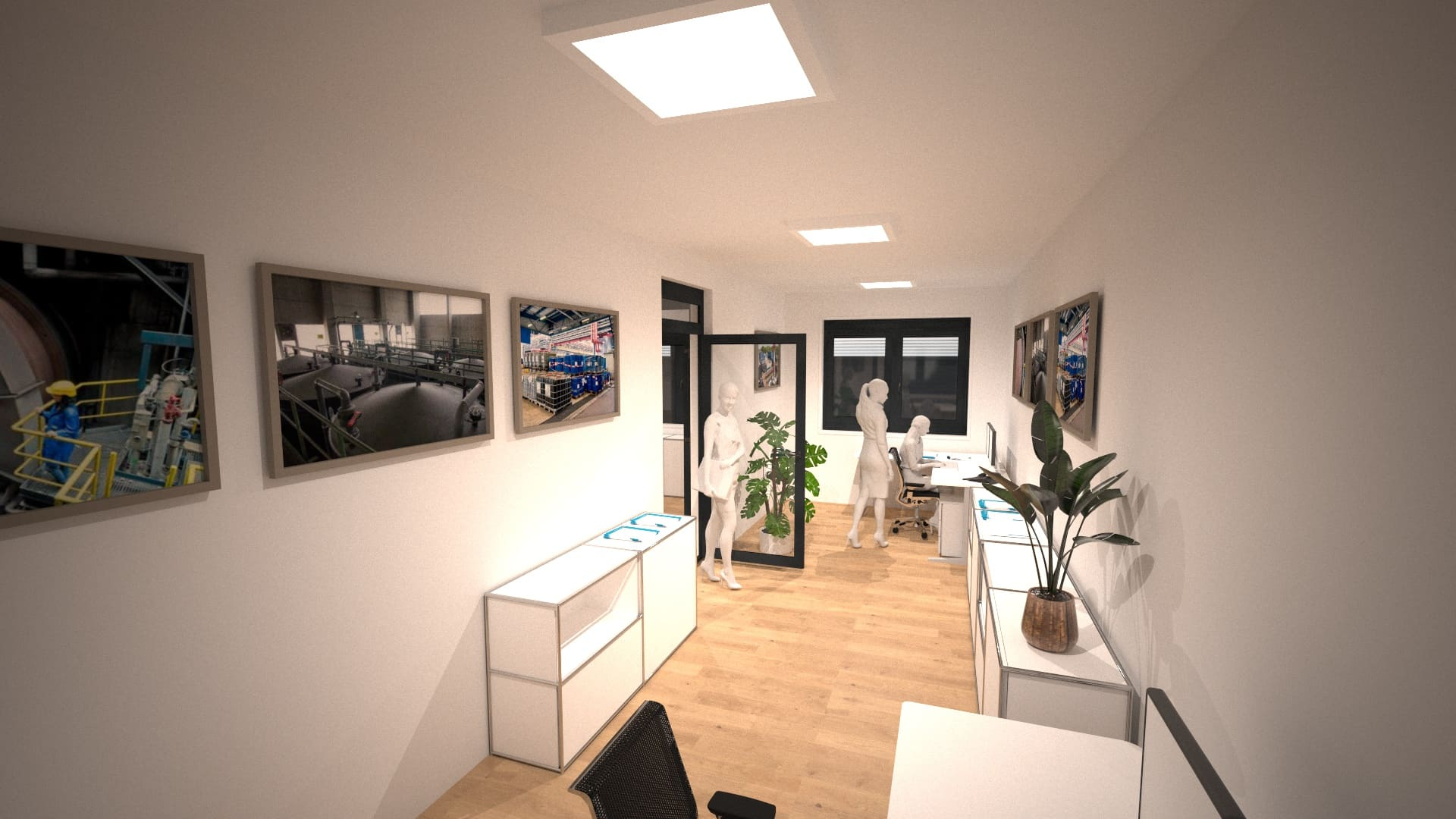 Modulares Bürogebäude 06