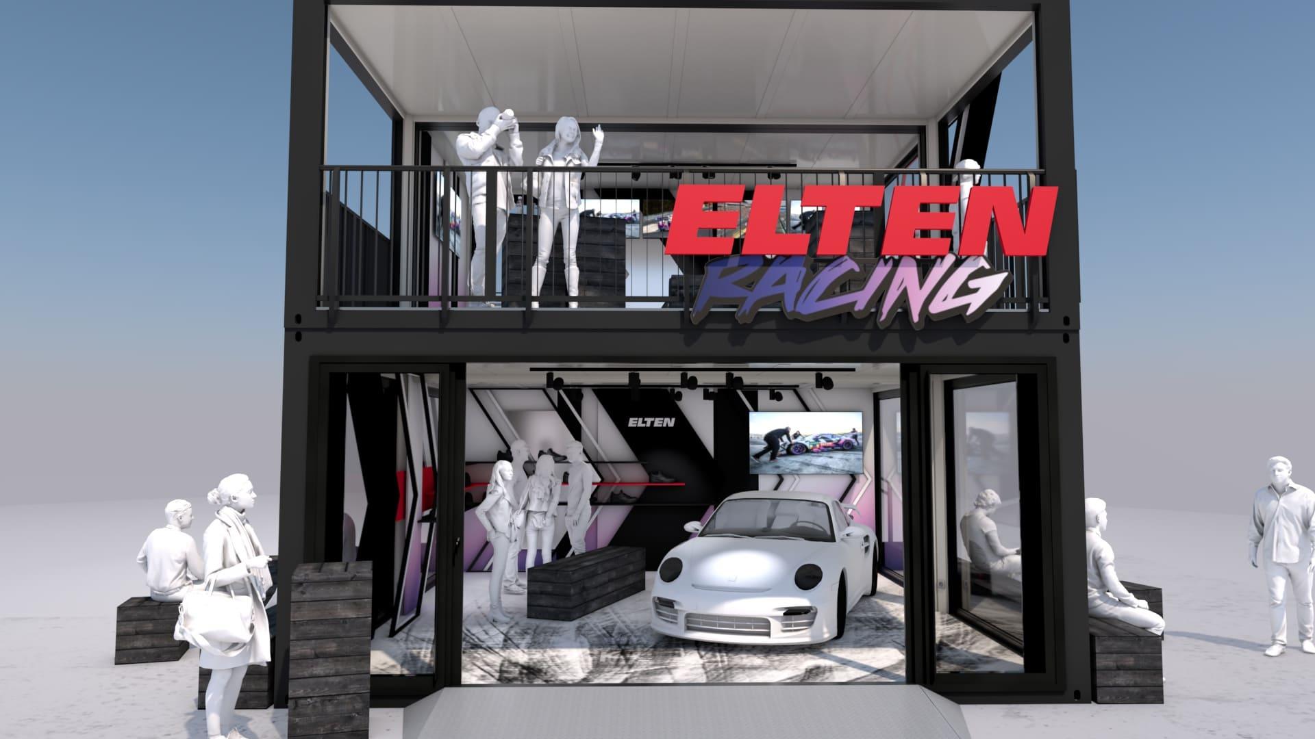 Eventcontainer Showroom - Rennsport - Porsche - Elten 09