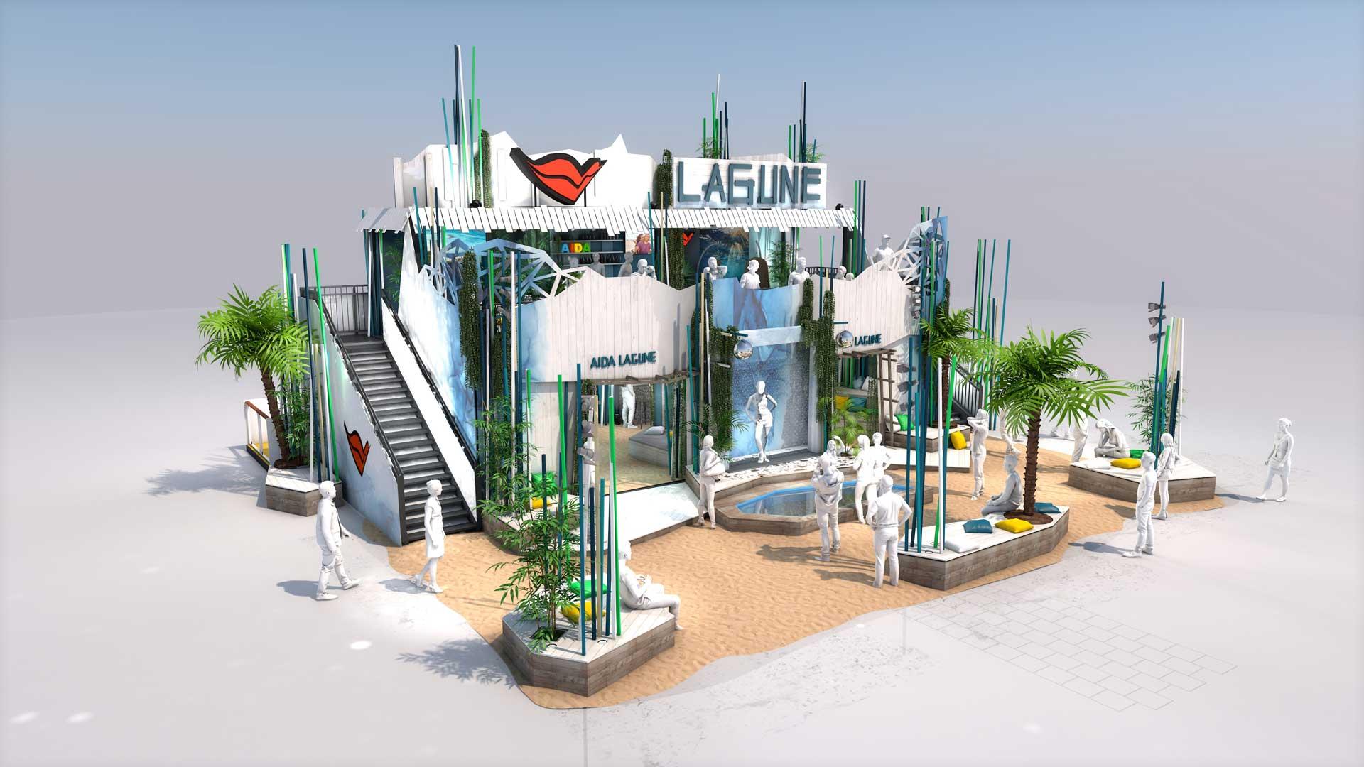 Festival-Container-Eventarchitektur-Eventcontainer-AIDA - Konzept Festival 2