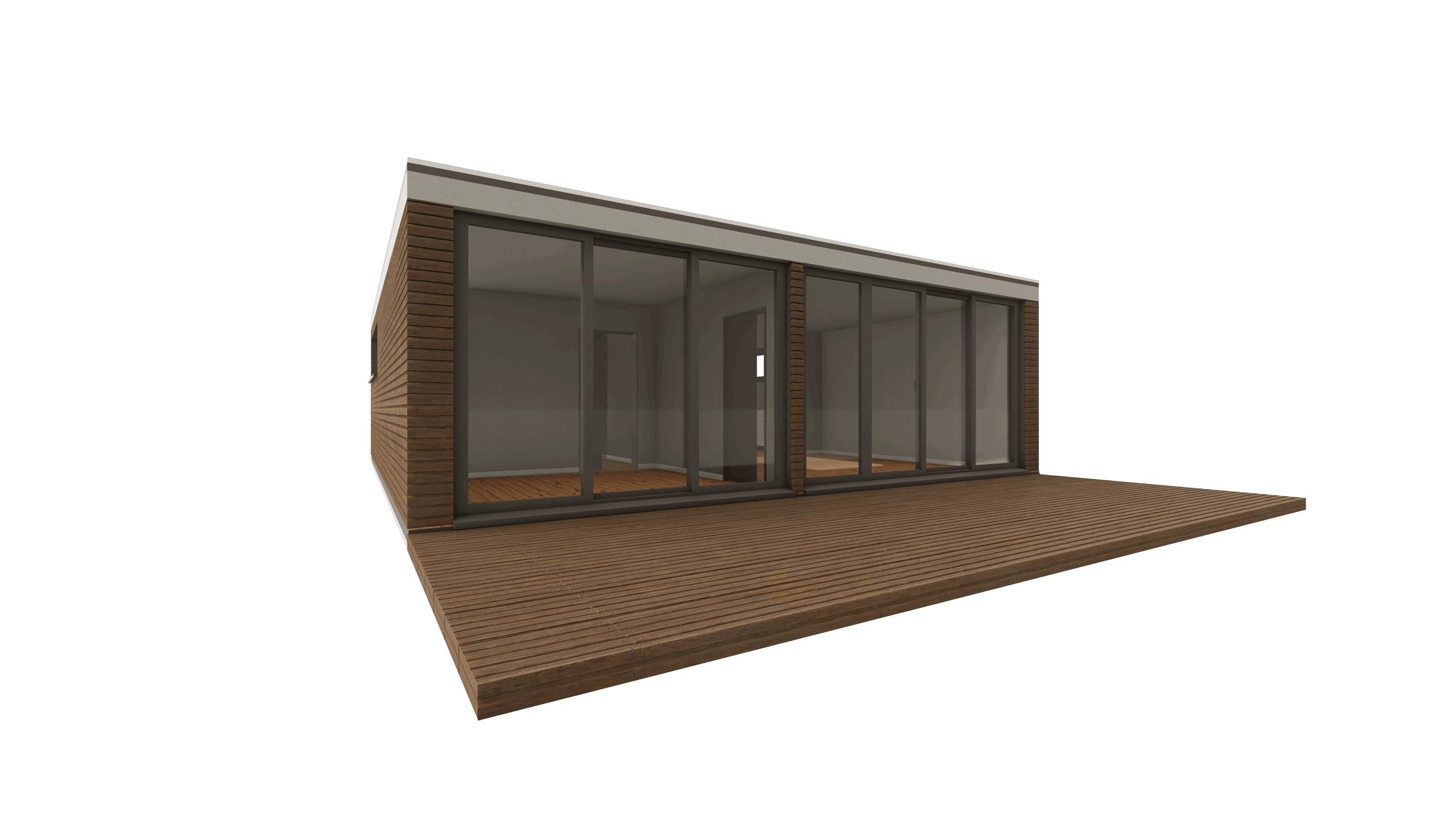 Modulbau Wohnhaus