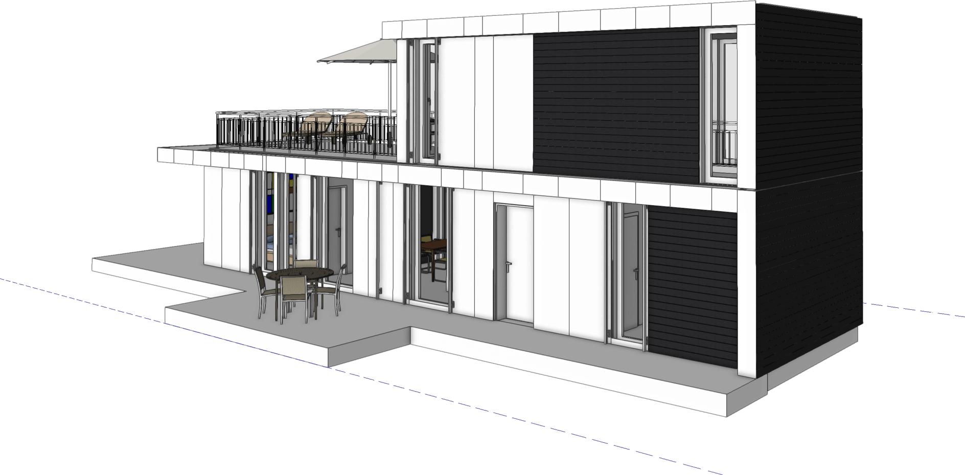 Wohnhaus Modulbau