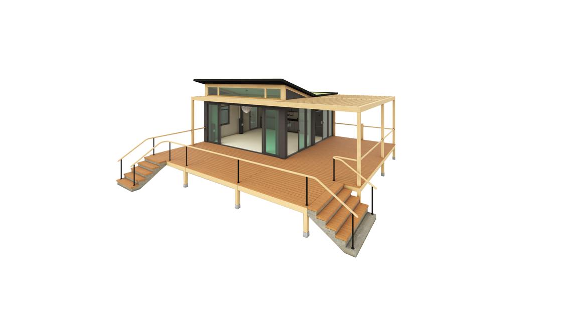 Modulbau Gartenhaus 2020 by JP Spaces