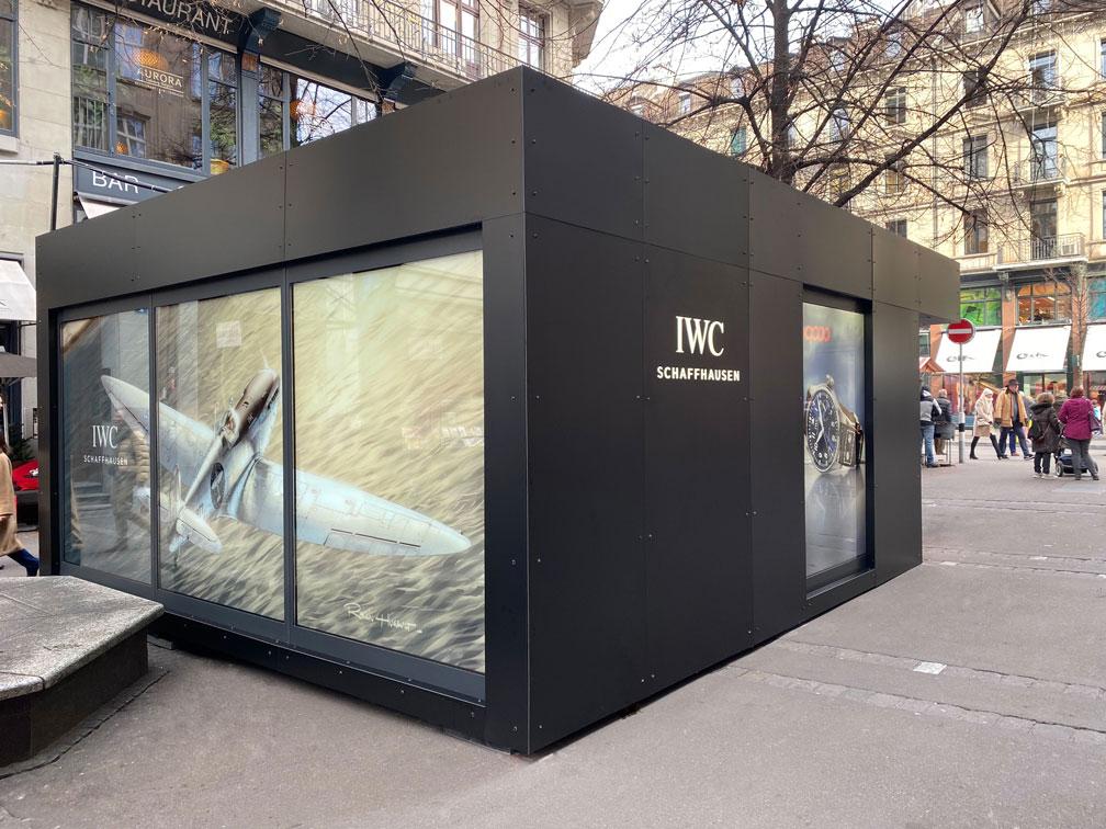 Container Pop Up Store - hinten