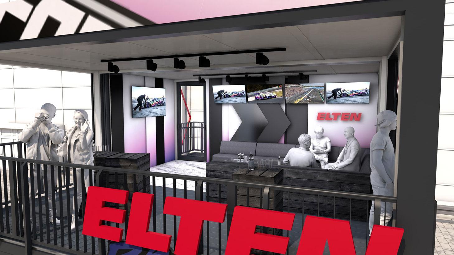 Eventcontainer Showroom - Rennsport - Porsche - Elten 05