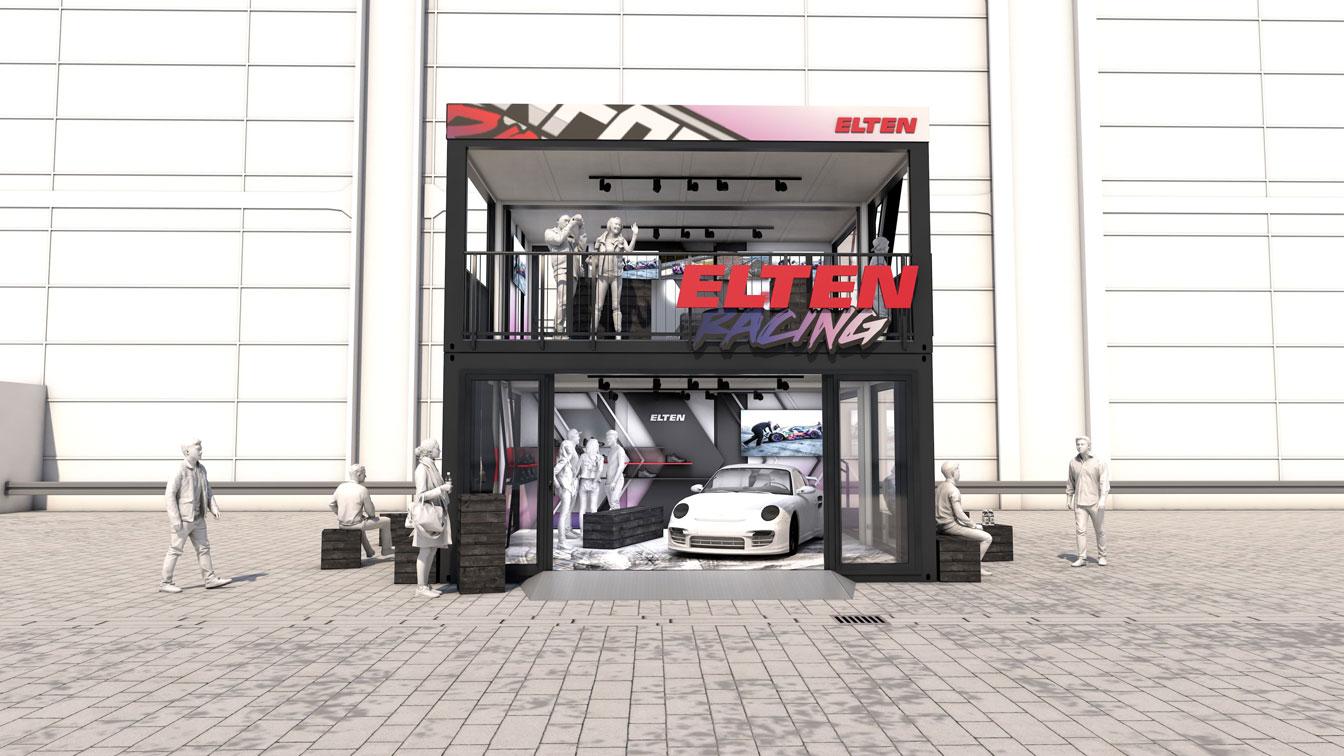 Eventcontainer Showroom - Rennsport - Porsche - Elten 03