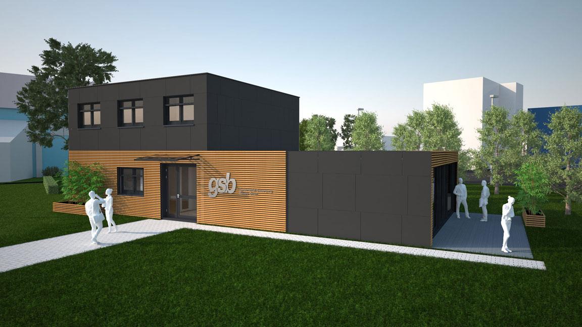 Modulares Bürogebäude 02