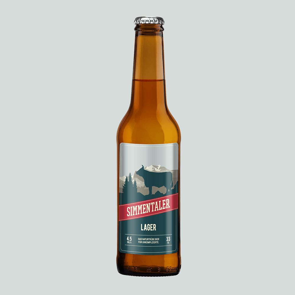 Feinstes Simmentaler Bier direkt von der Brauerei zu dir nach Hause (ganze Schweiz)