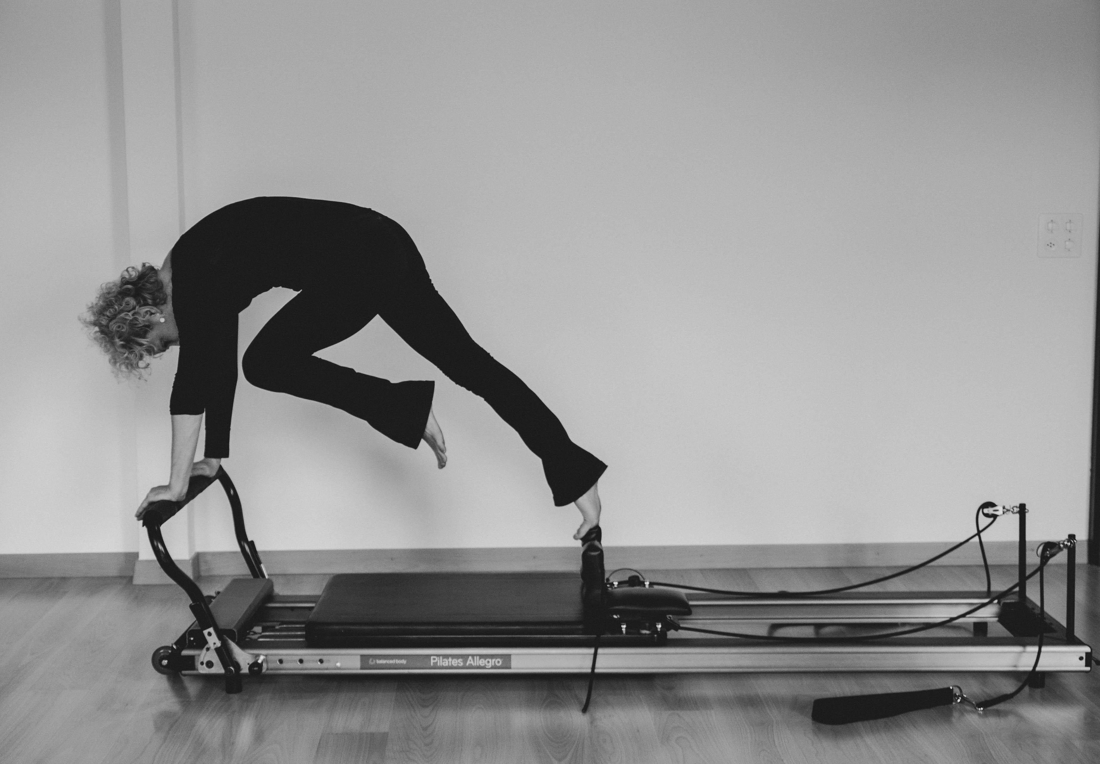 Pilates online in soggiorno